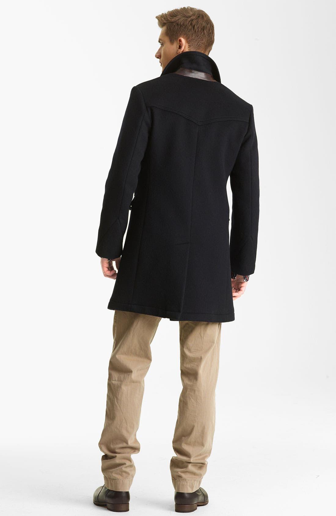 Alternate Image 5  - Billy Reid 'Jackson' Shawl Collar Sweatshirt