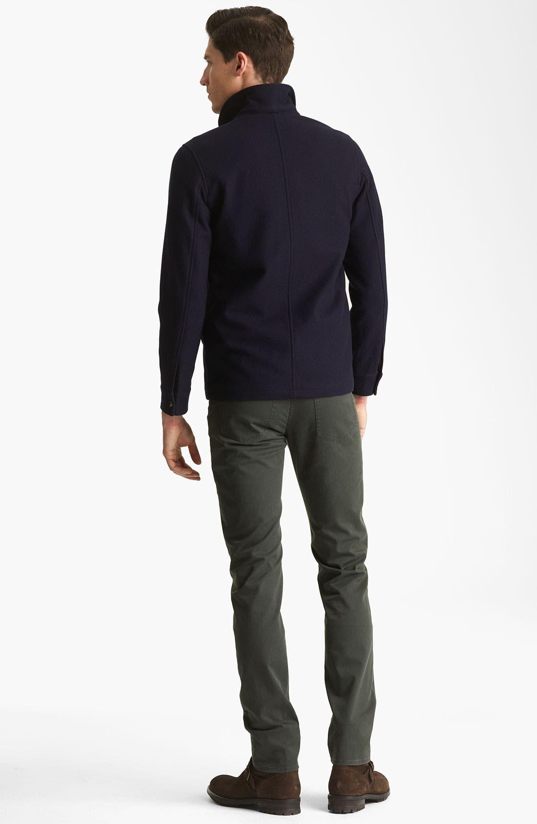 Alternate Image 5  - A.P.C. 'Petit' Slim Straight Leg Chinos