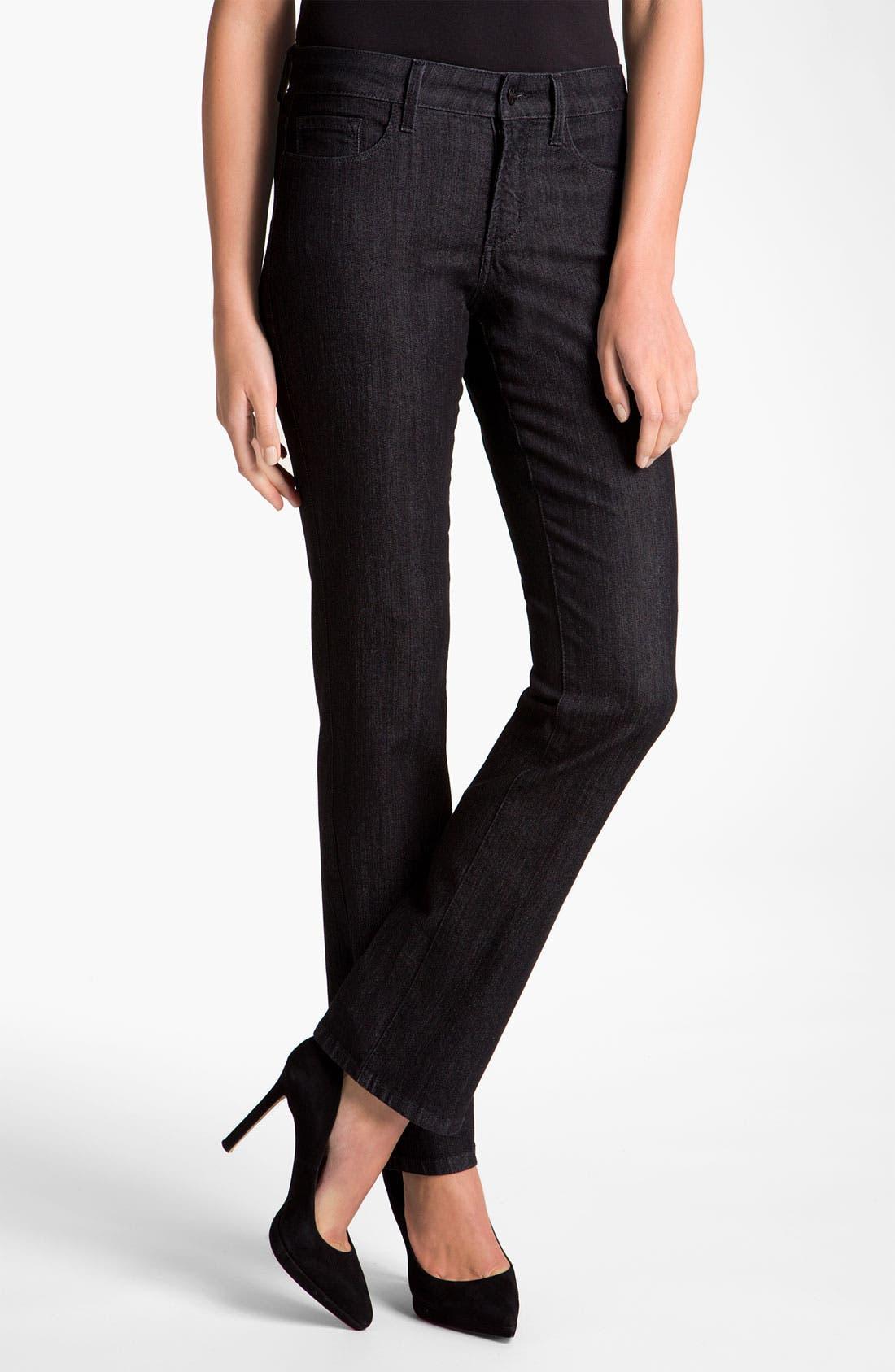 Main Image - NYDJ Embroidered Pocket Jeans (Petite)
