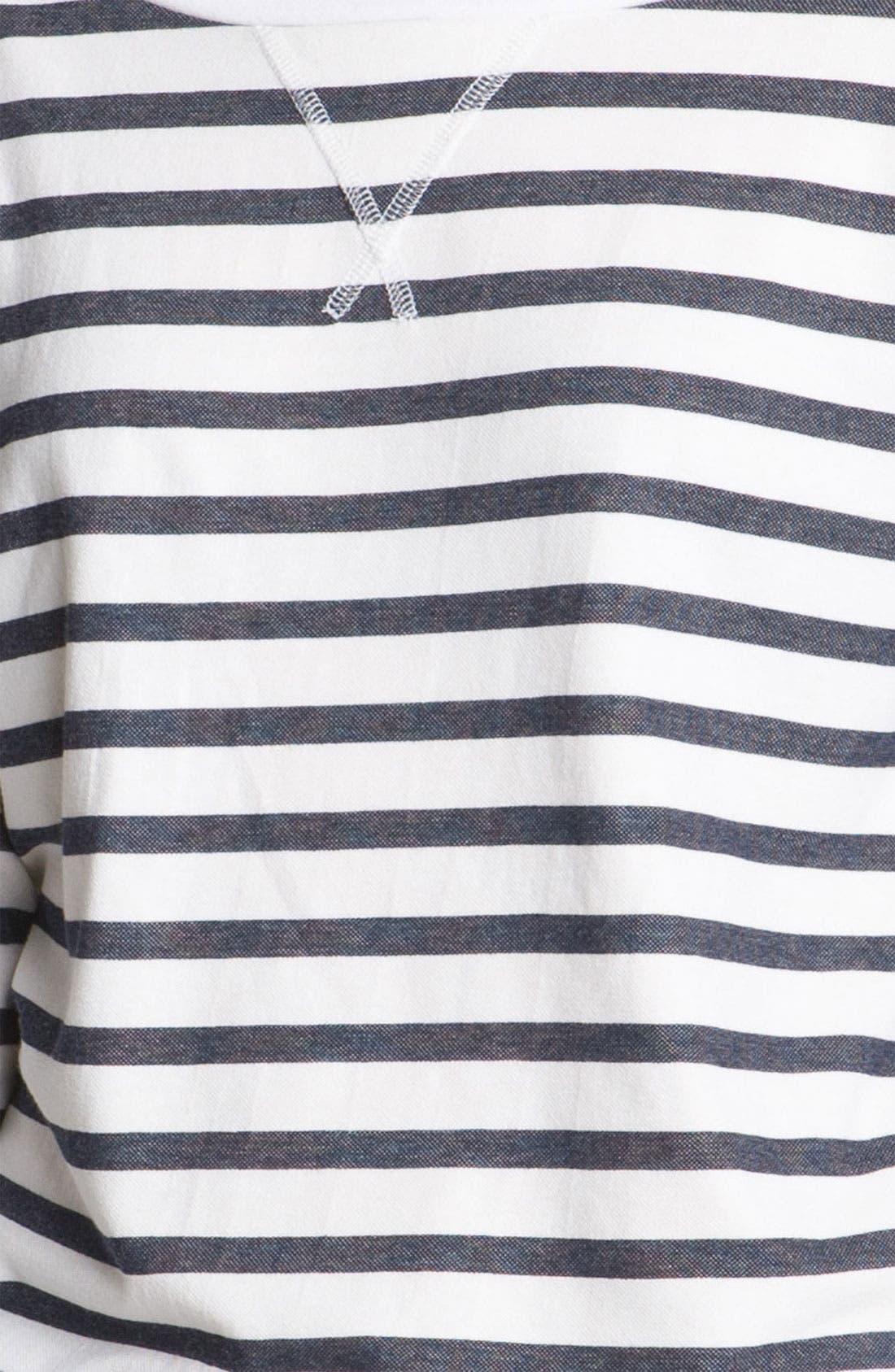 Alternate Image 3  - AG Jeans Nautical Stripe Top