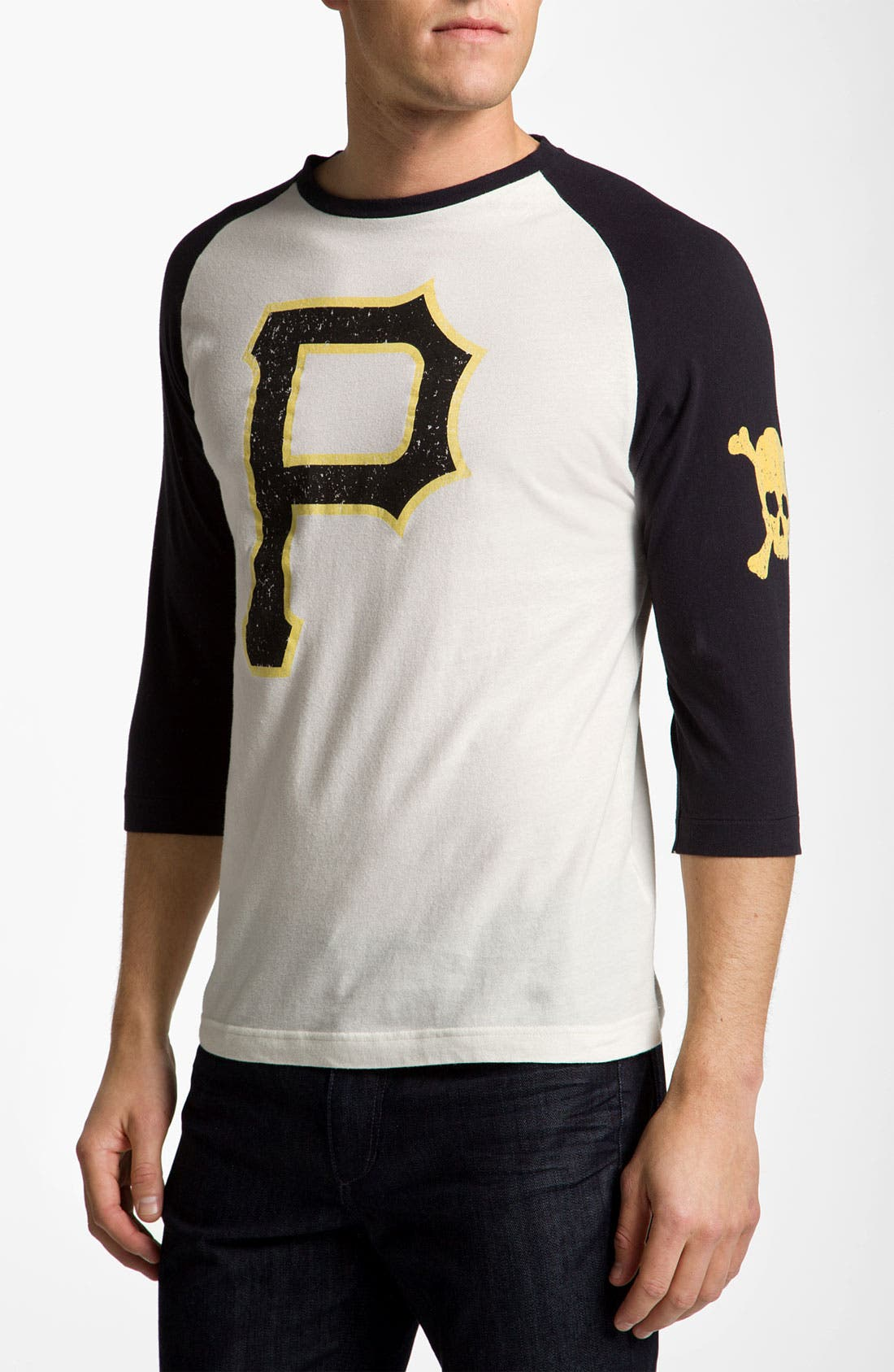 Alternate Image 1 Selected - Wright & Ditson 'Pittsburgh Pirates' Baseball T-Shirt