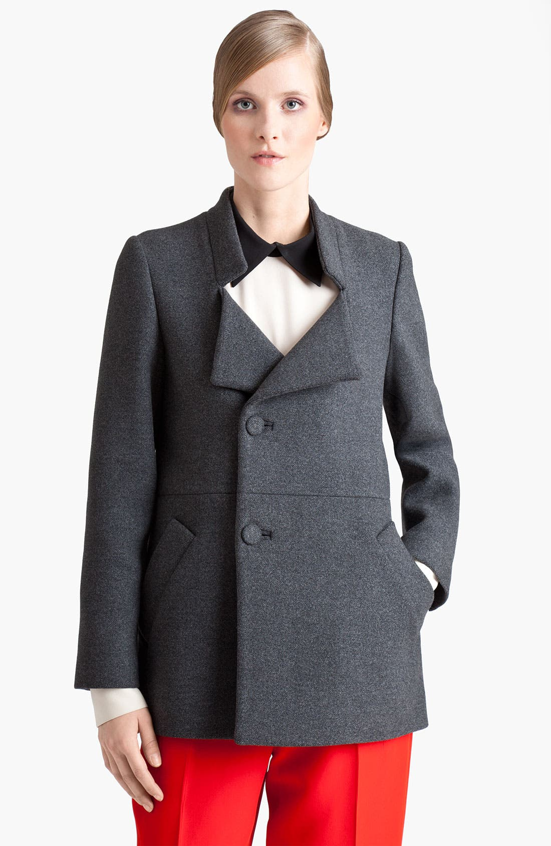Alternate Image 1 Selected - Marni Double Breasted Wool Coat