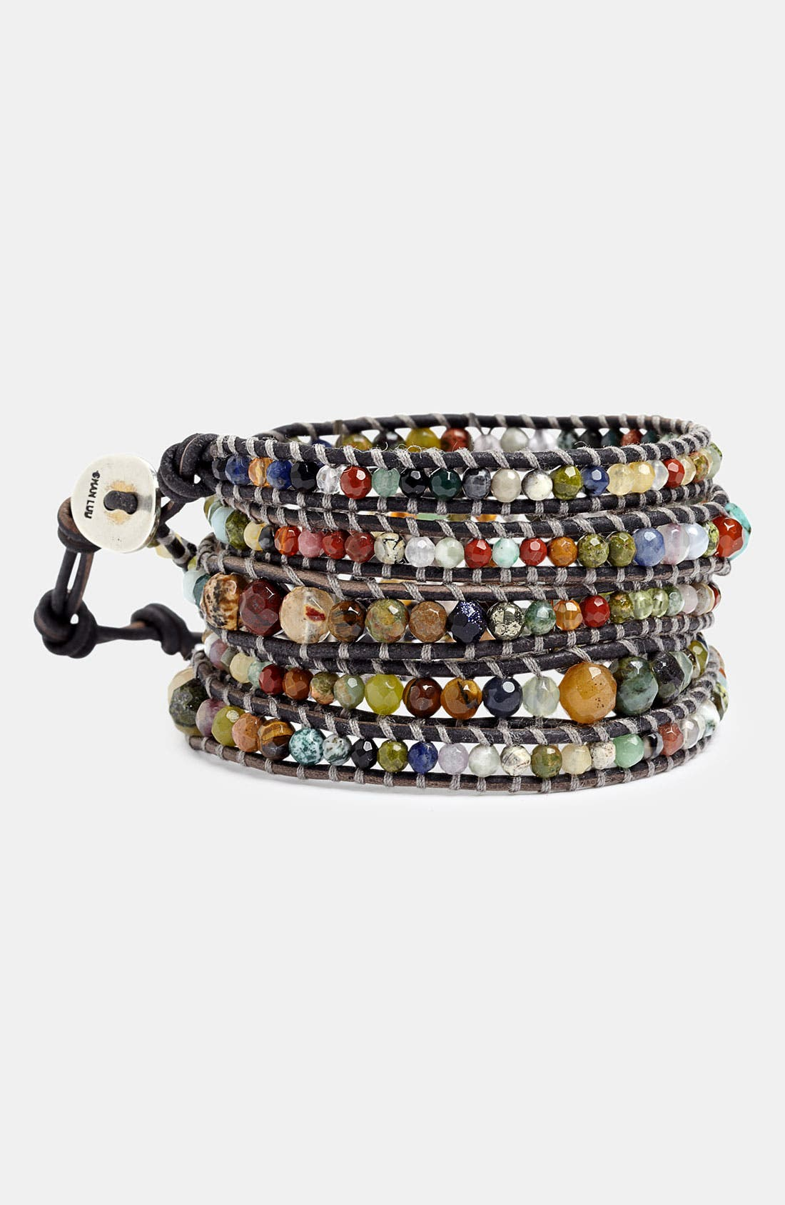 Alternate Image 1 Selected - Chan Luu Semiprecious Stone Wrap Bracelet