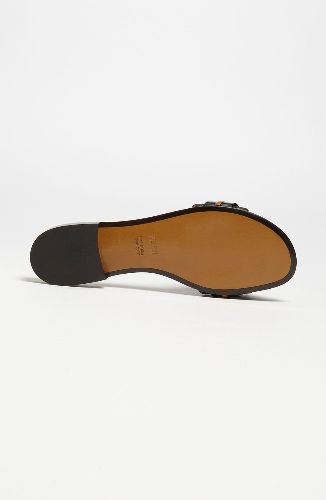 Alternate Image 4  - Fendi 'Pride & Prejudice' Bow Slide Sandal
