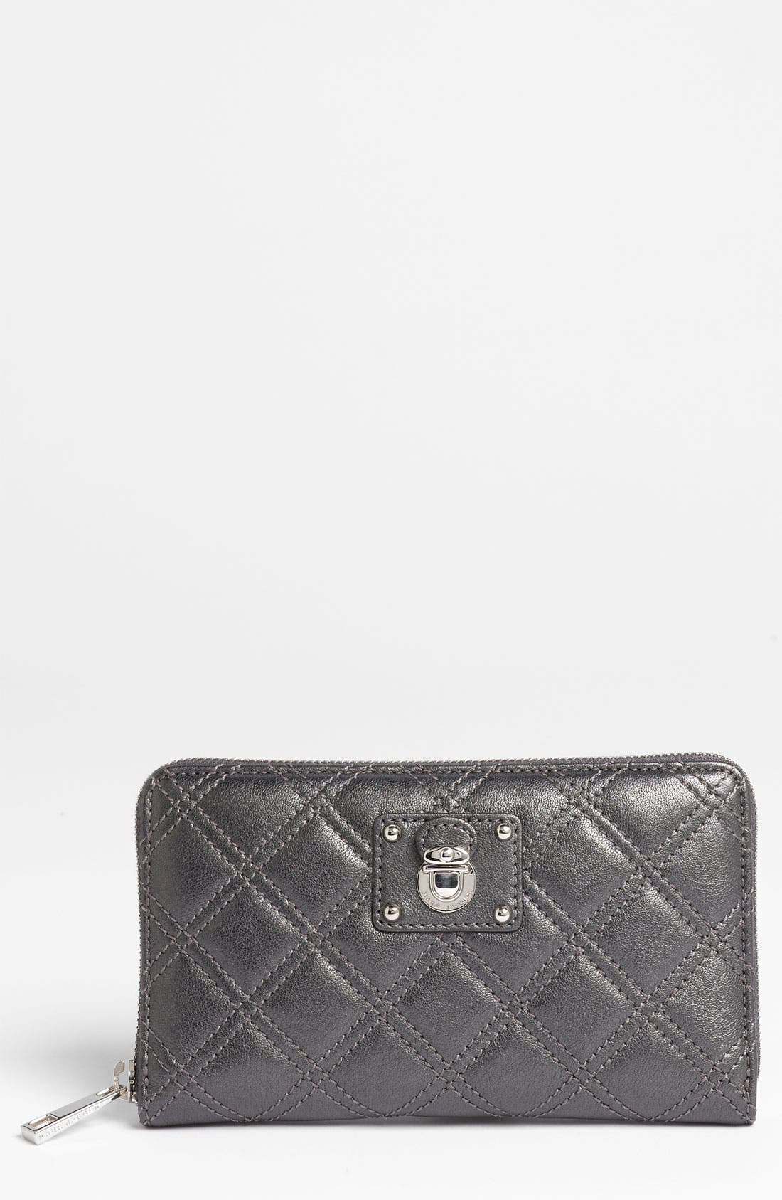 Main Image - MARC JACOBS 'Quilting Hudson' Leather Wallet