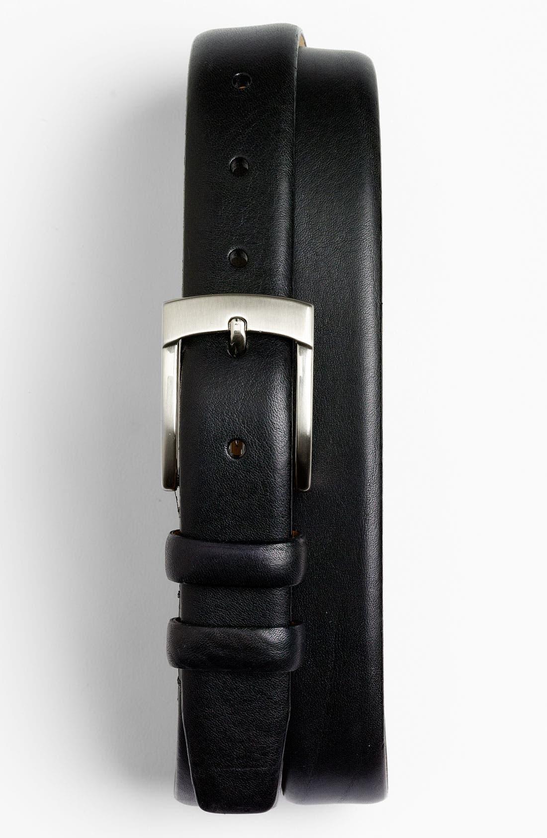 Main Image - Trafalgar 'Potomac' Leather Belt