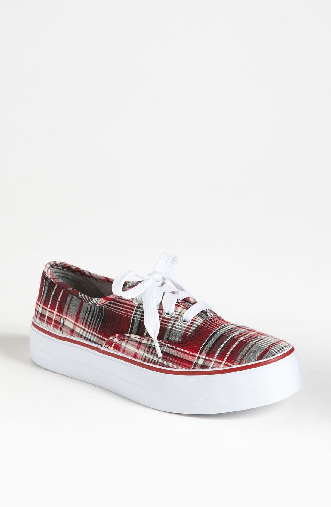 Alternate Image 1 Selected - BC Footwear 'Double Down' Platform Sneaker