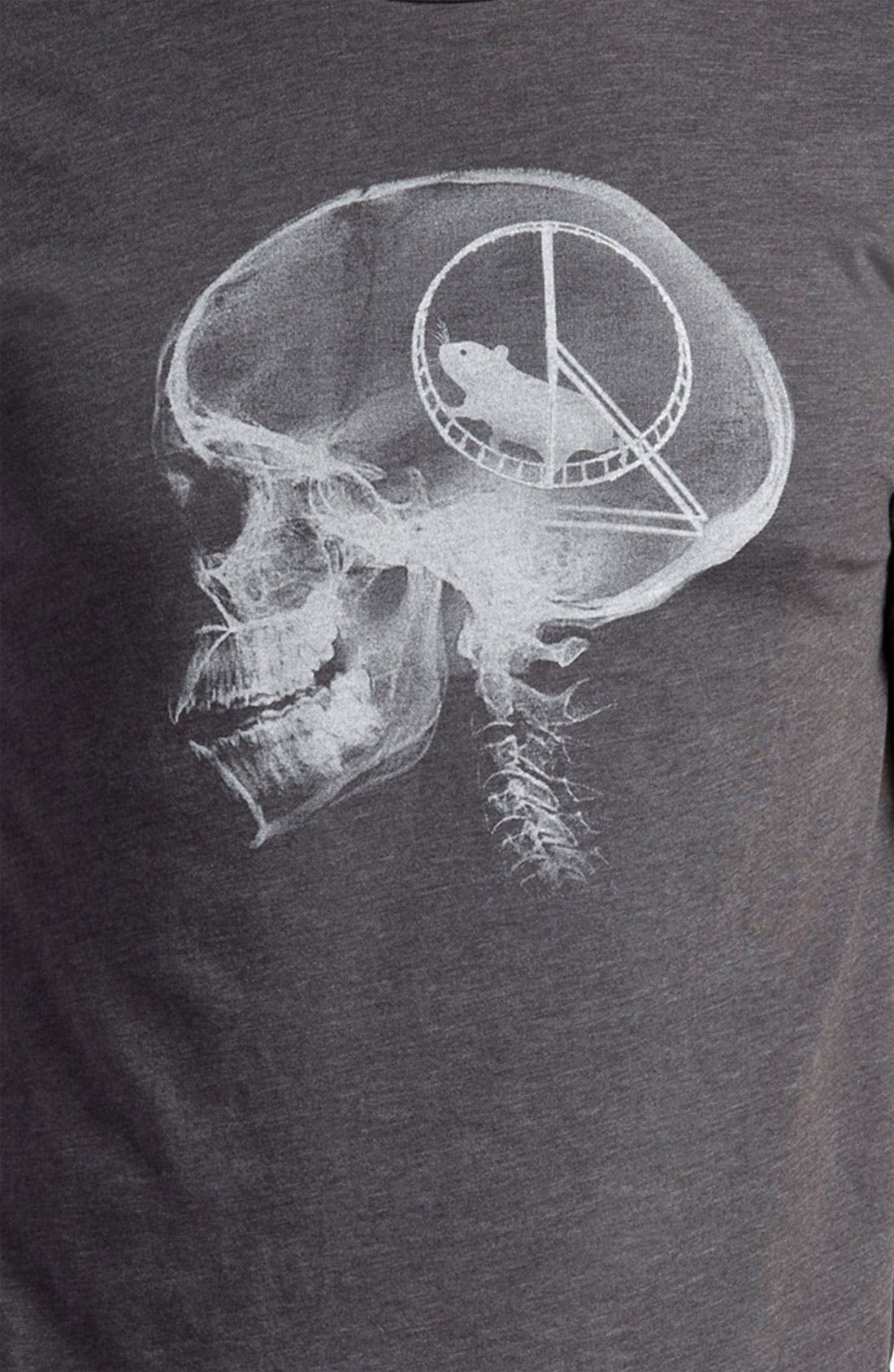 Alternate Image 3  - Headline Shirts 'Hamster Head Scan' T-Shirt