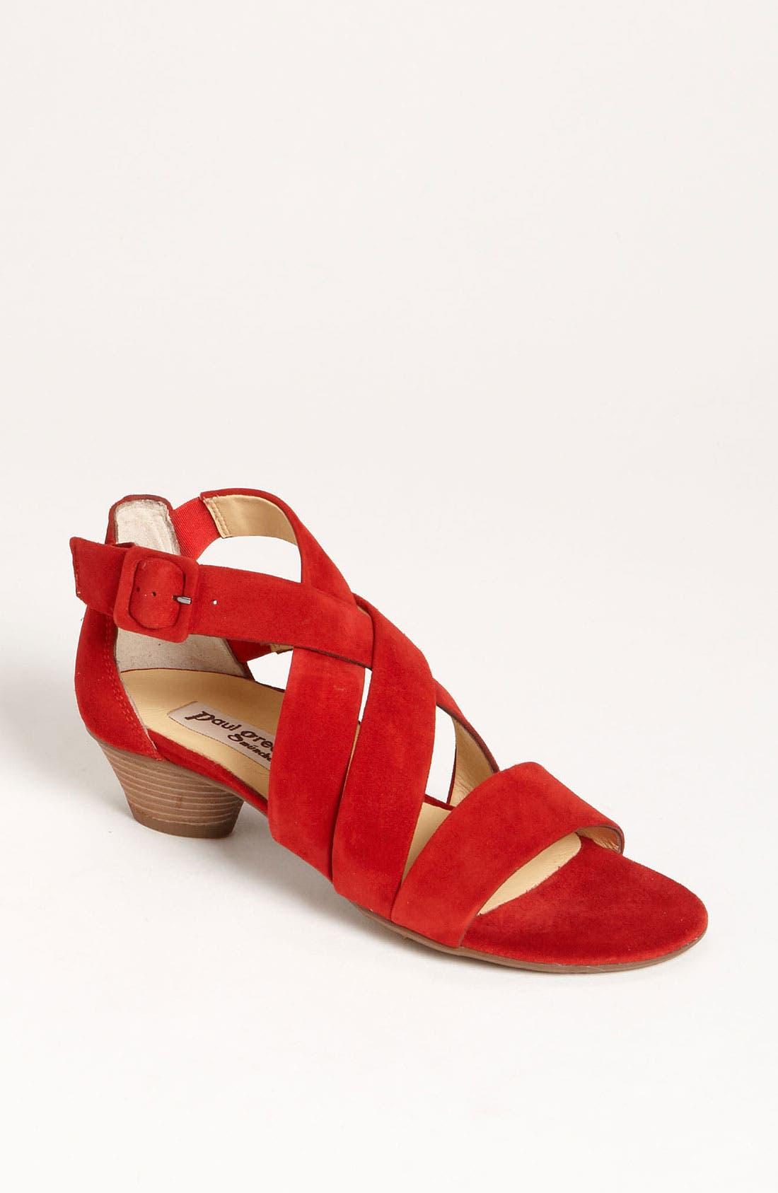 Alternate Image 1 Selected - Paul Green 'Lupe' Sandal