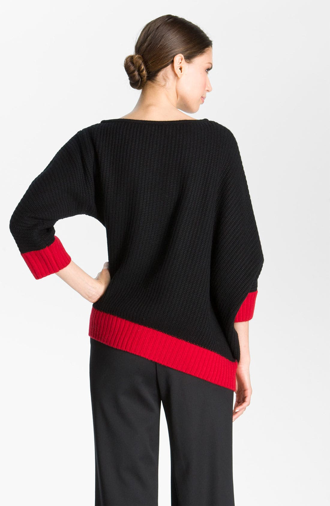 Alternate Image 3  - St. John Collection Colorblocked Sweater