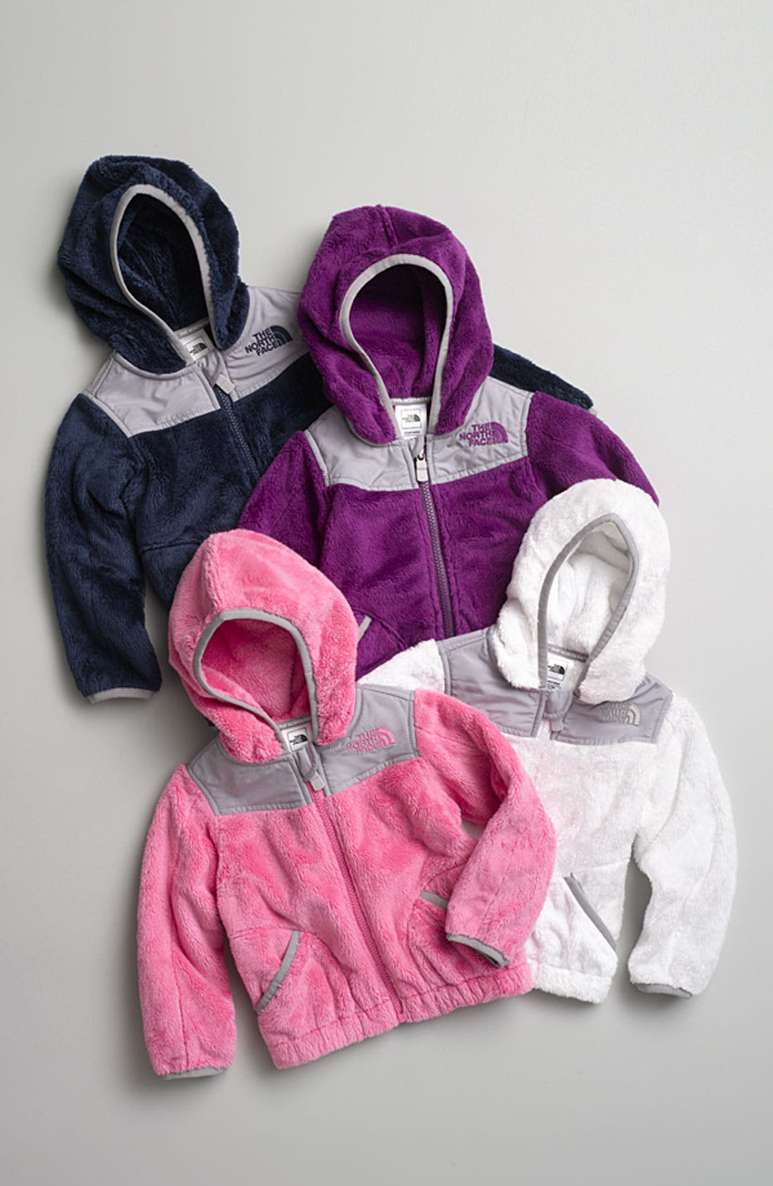 Alternate Image 2  - The North Face 'Oso' Hooded Fleece Jacket (Baby)