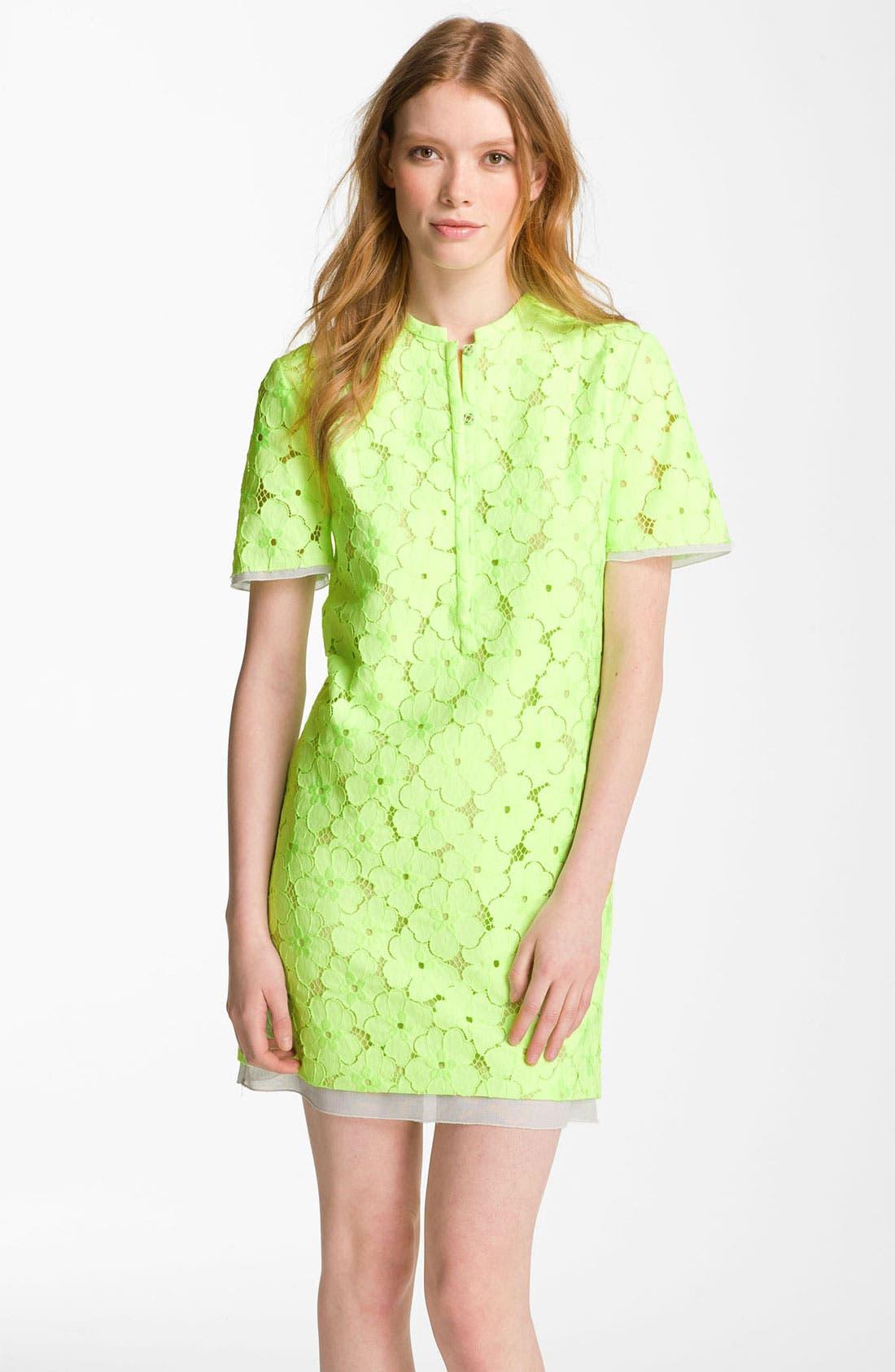 Alternate Image 1 Selected - Diane von Furstenberg 'Warner' Lace Dress