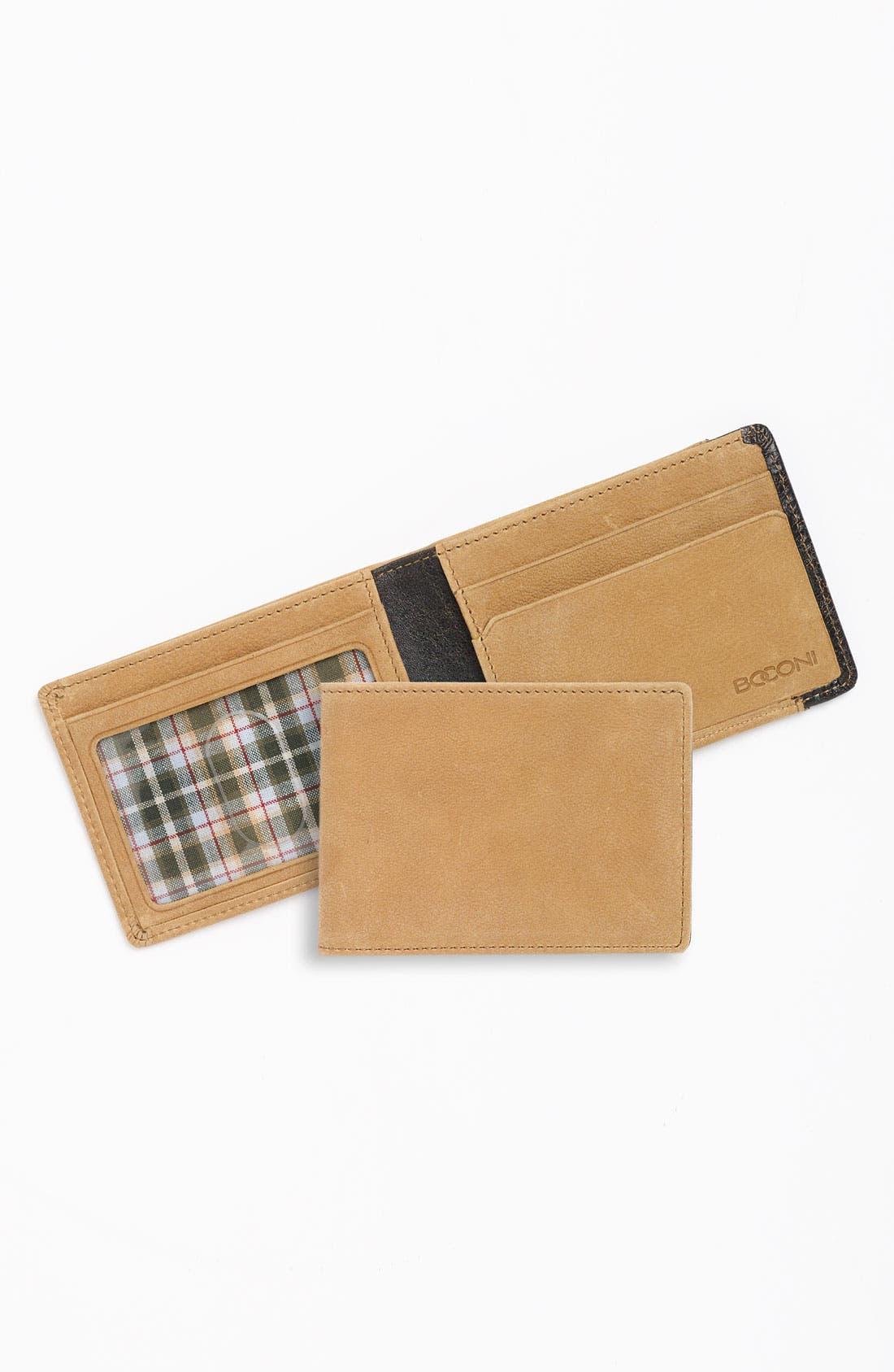 Alternate Image 1 Selected - Boconi 'Leon - Slimster' Leather Wallet