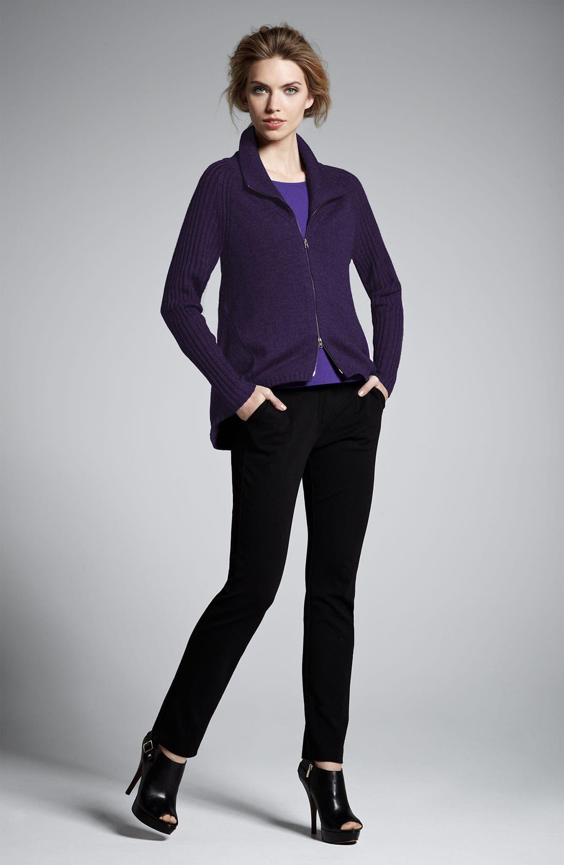 Alternate Image 3  - Eileen Fisher Slim Ponte Knit Pants