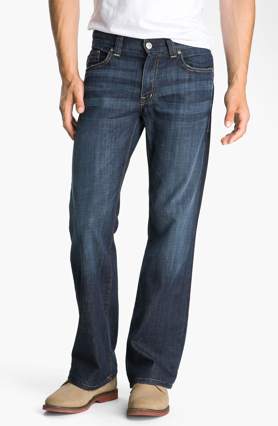 Alternate Image 1  - Fidelity Denim 'Camino' Relaxed Leg Jeans (Generation Blue)