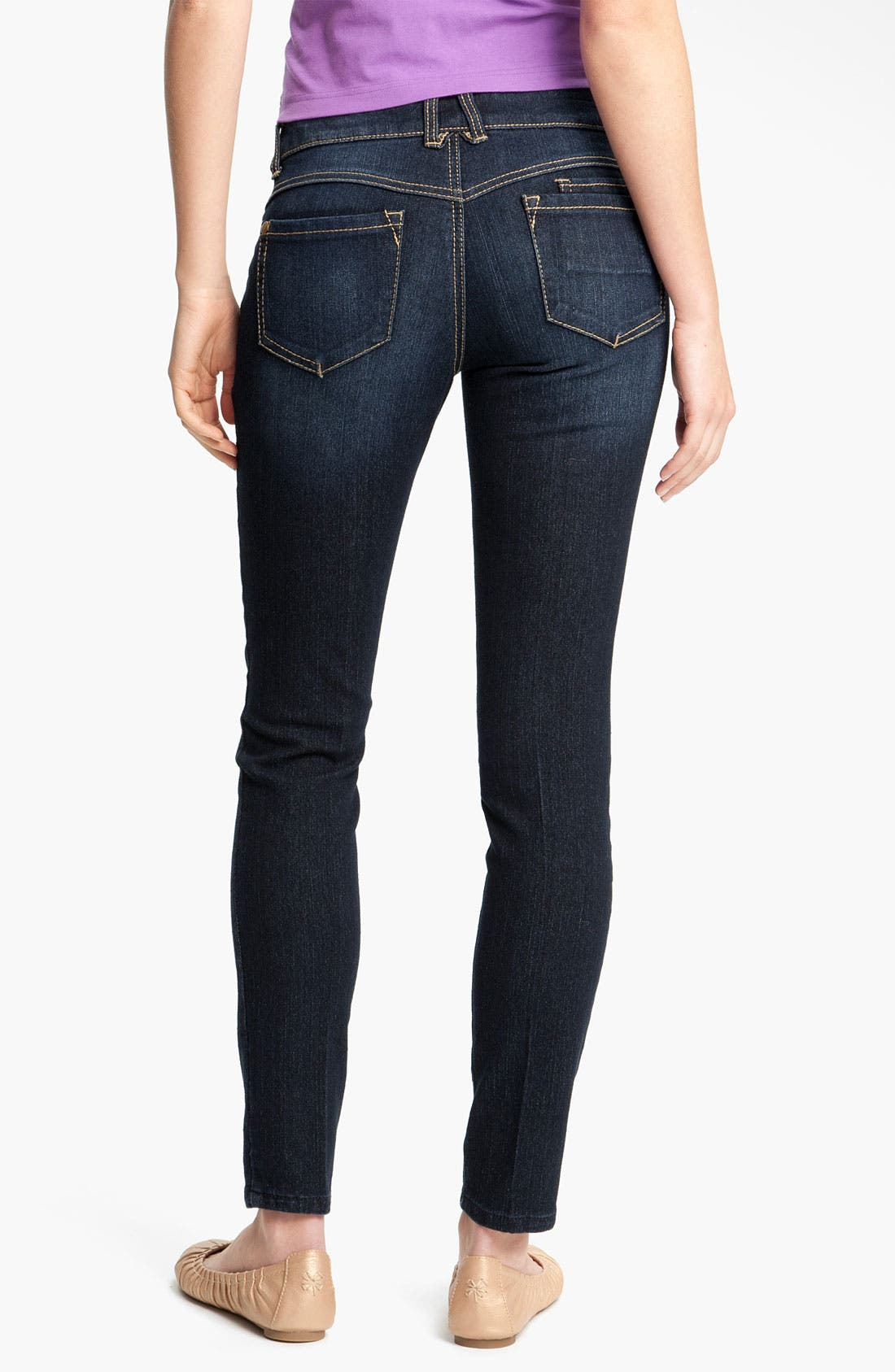 Alternate Image 1 Selected - Jolt Stretch Skinny Jeans (Juniors)