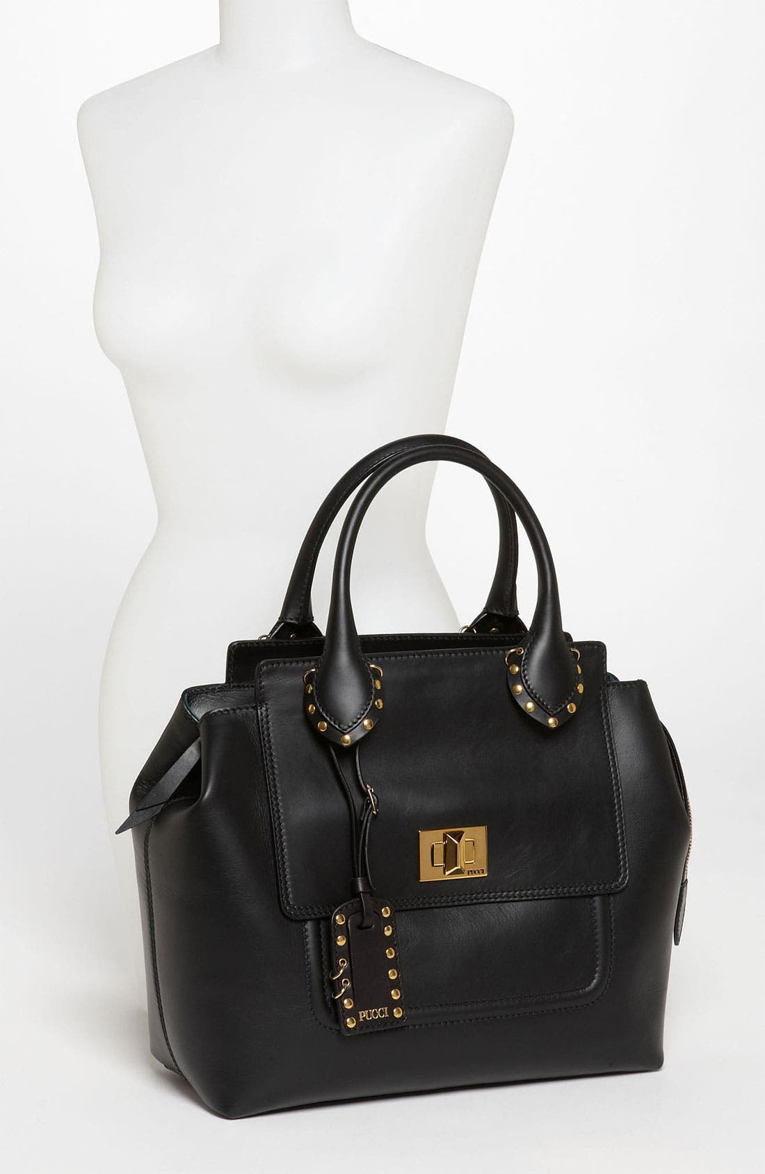 Alternate Image 2  - Emilio Pucci Leather Satchel
