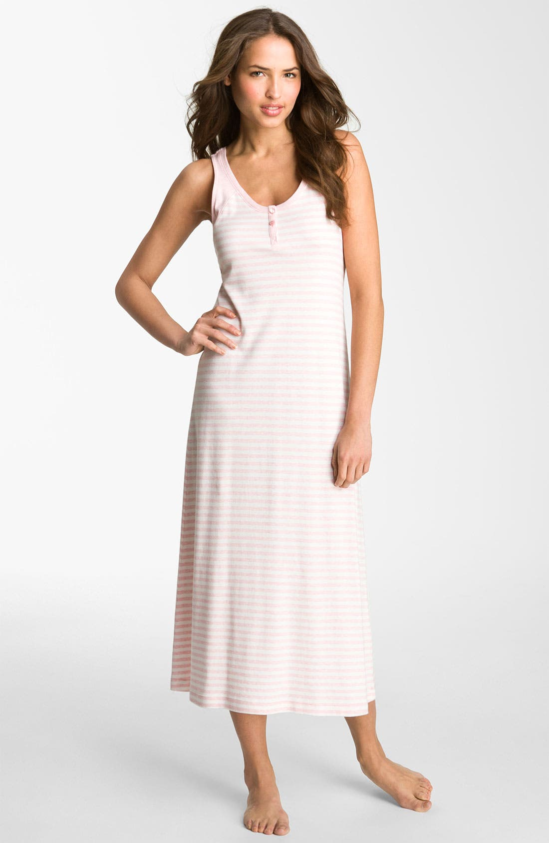 Alternate Image 1 Selected - Carole Hochman Designs 'Gardenside' Nightgown