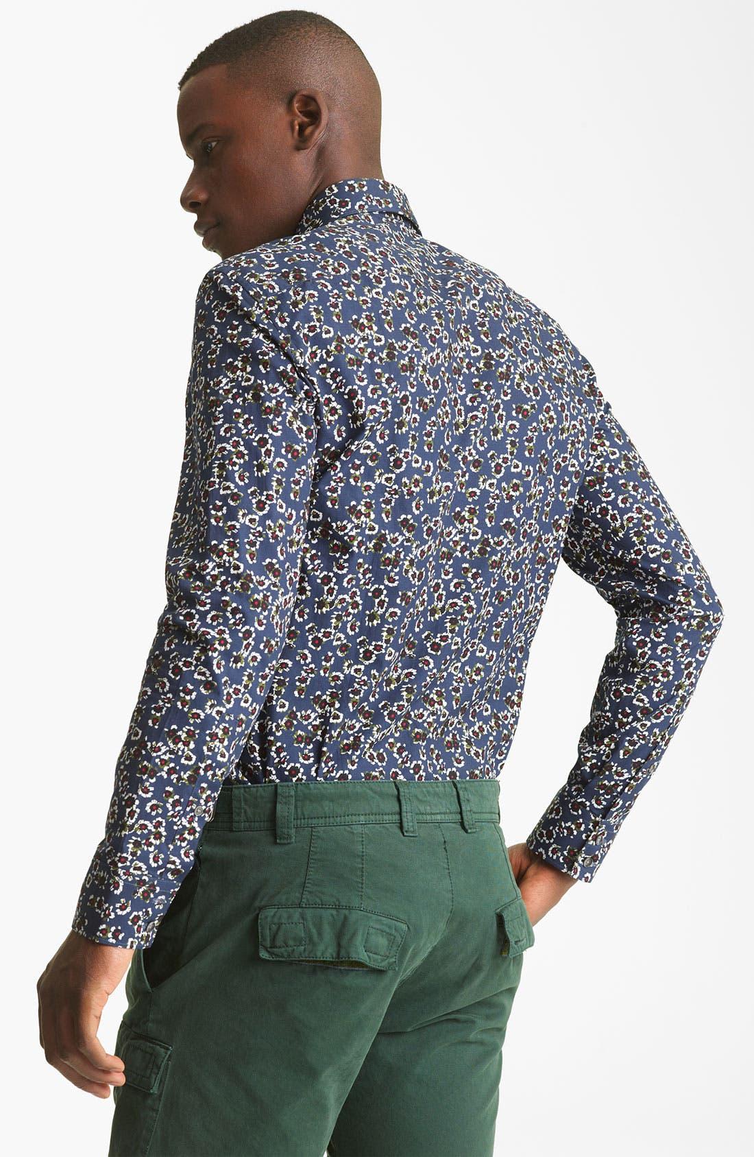 Alternate Image 2  - KENZO Flower Print Dress Shirt