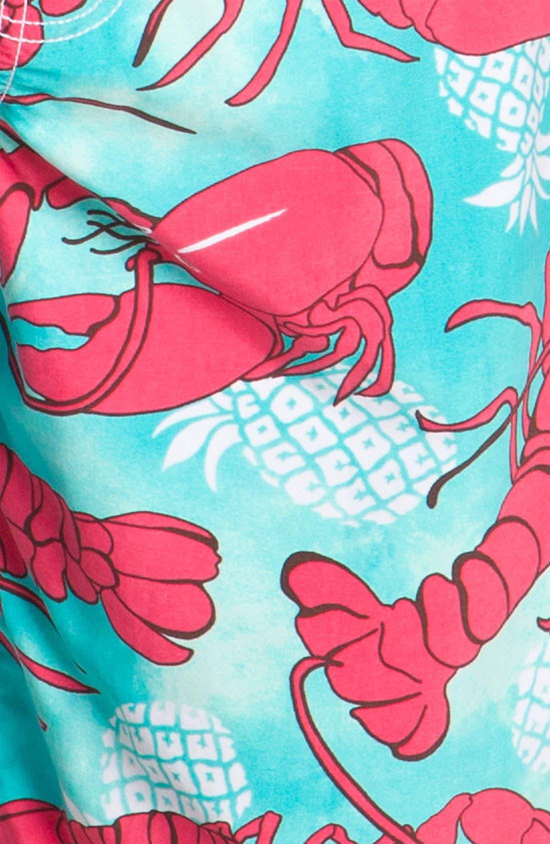 Alternate Image 3  - Vilebrequin 'Ocean Surfer' Lobster Print Board Shorts