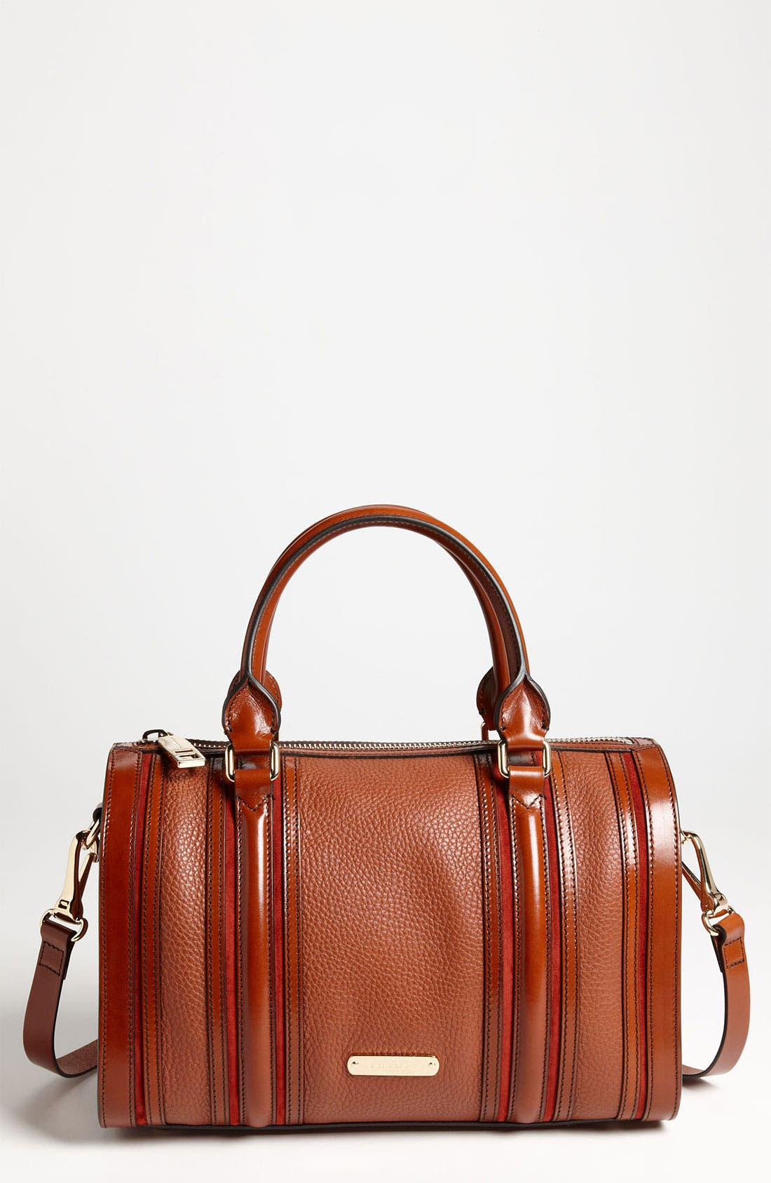 Alternate Image 1 Selected - Burberry Leather Satchel