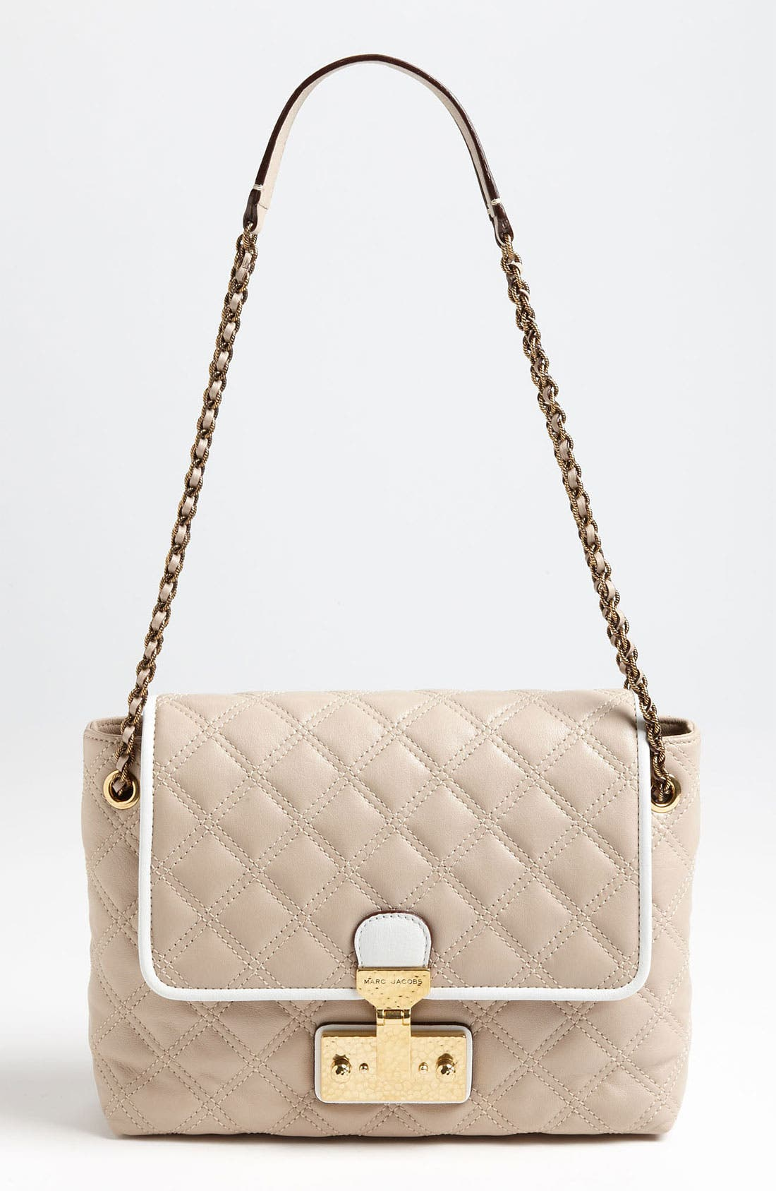 Main Image - MARC JACOBS 'Colorblocked Baroque - Large Single' Shoulder Bag