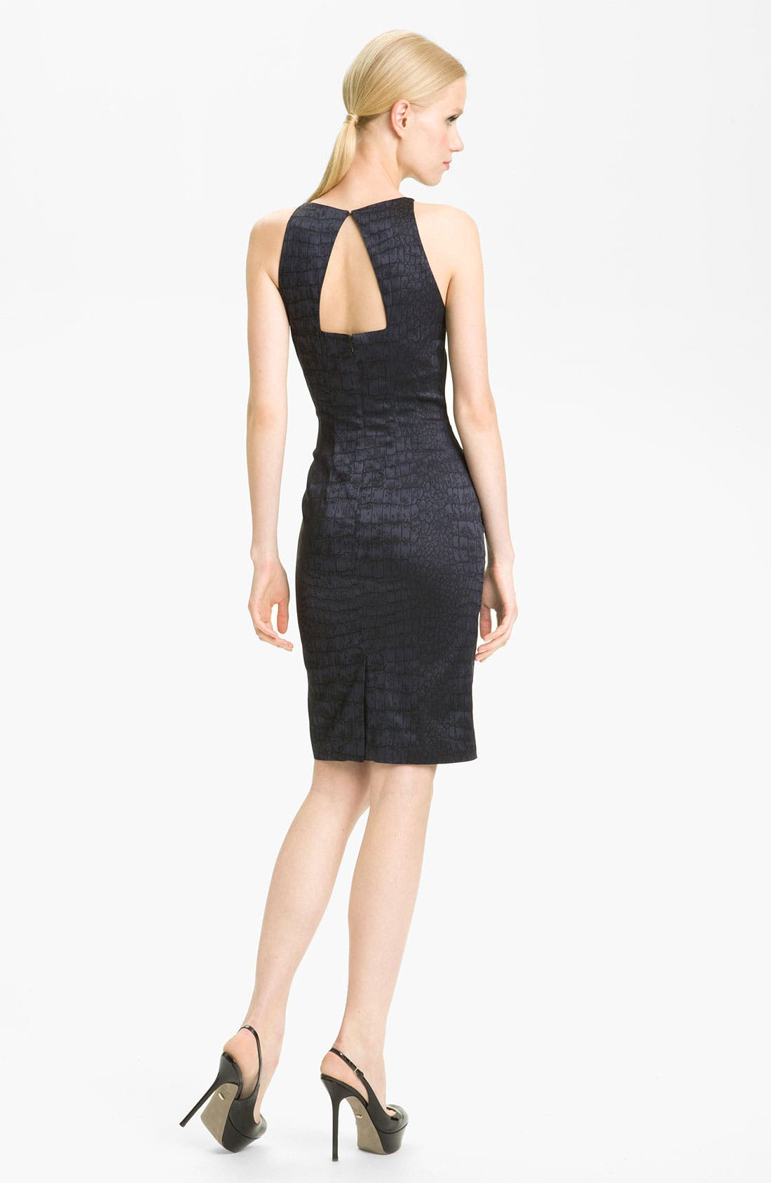 Alternate Image 2  - Jay Godfrey 'Naomi' Jacquard Sheath Dress (Nordstrom Exclusive)