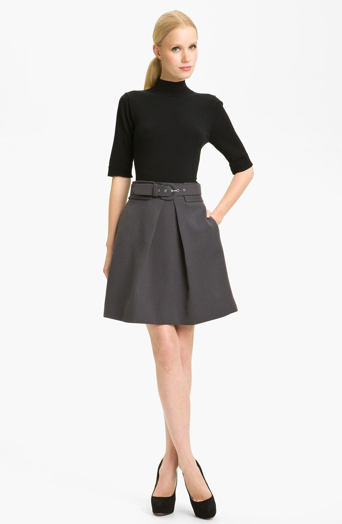 Alternate Image 4  - Milly 'Aude' Wool Skirt