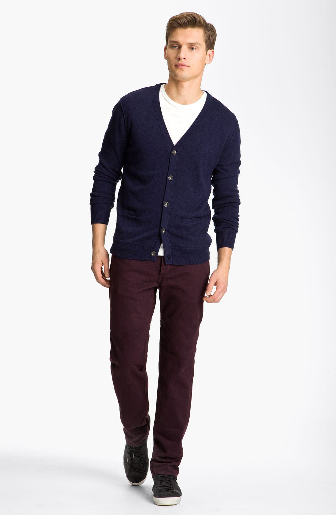 Alternate Image 4  - rag & bone 'Abingdon' Wool Cardigan