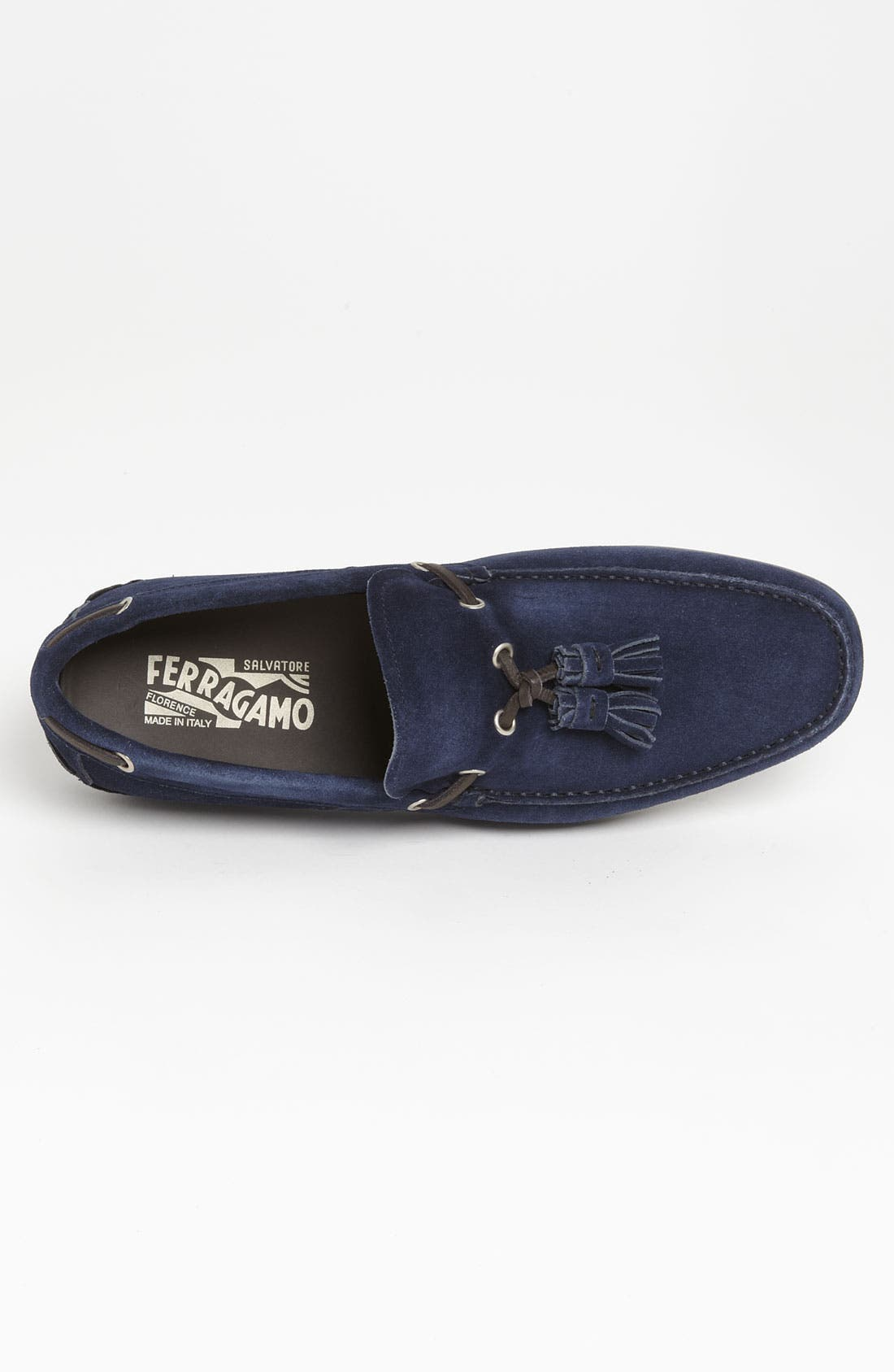 Alternate Image 3  - Salvatore Ferragamo 'Amos 3' Tassel Driving Shoe