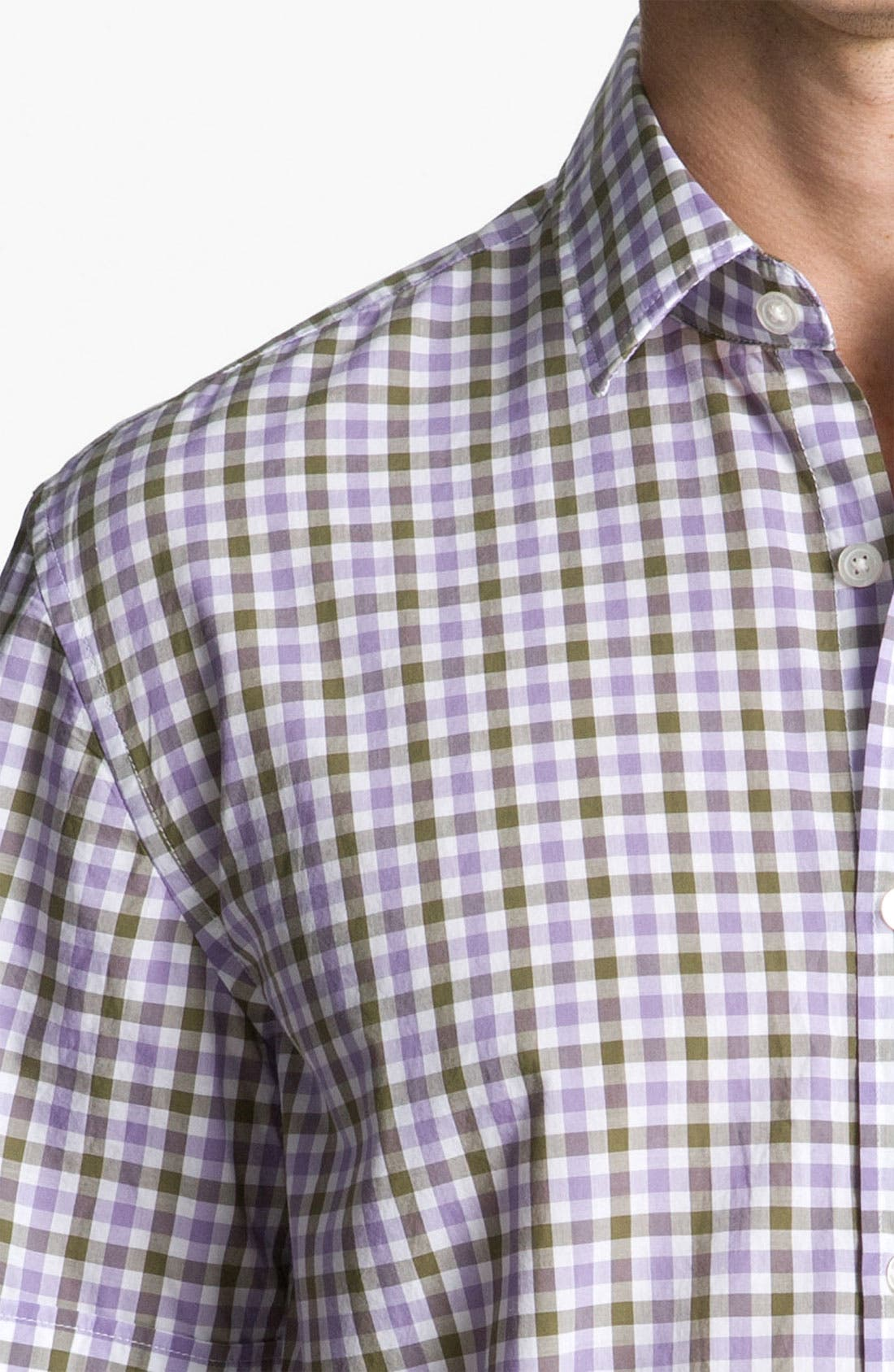 Alternate Image 3  - BOSS Black 'Marc' Slim Fit Sport Shirt