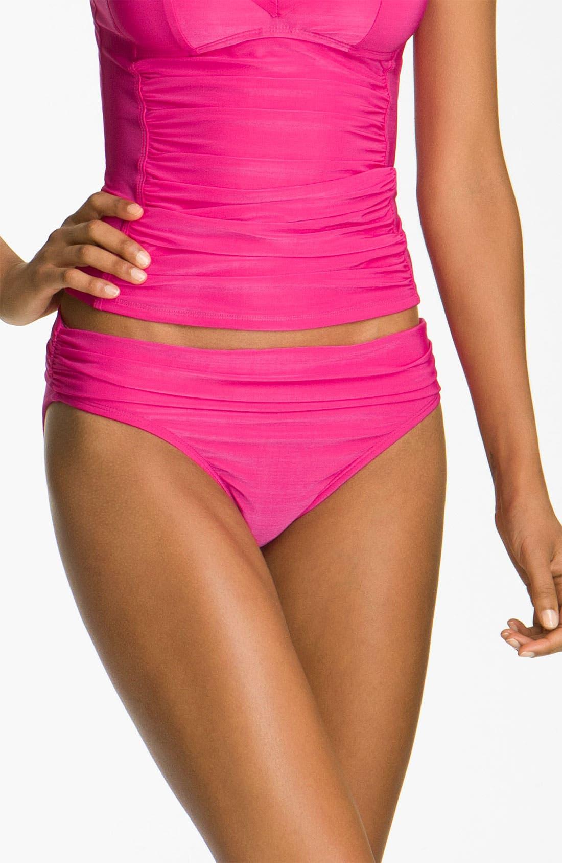 Alternate Image 1 Selected - La Blanca 'Diabolo' Hipster Bikini Bottoms