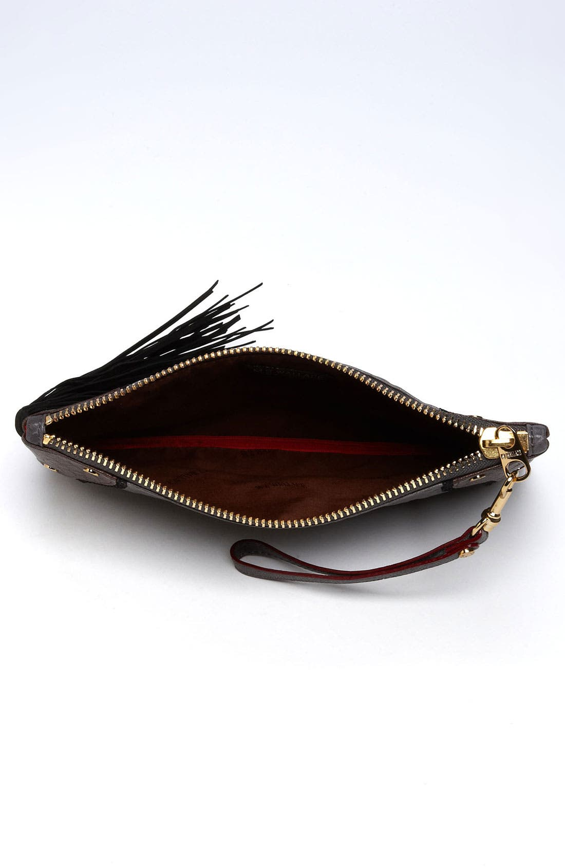 Alternate Image 3  - MZ Wallace 'Hamish' Mixed Leather Clutch