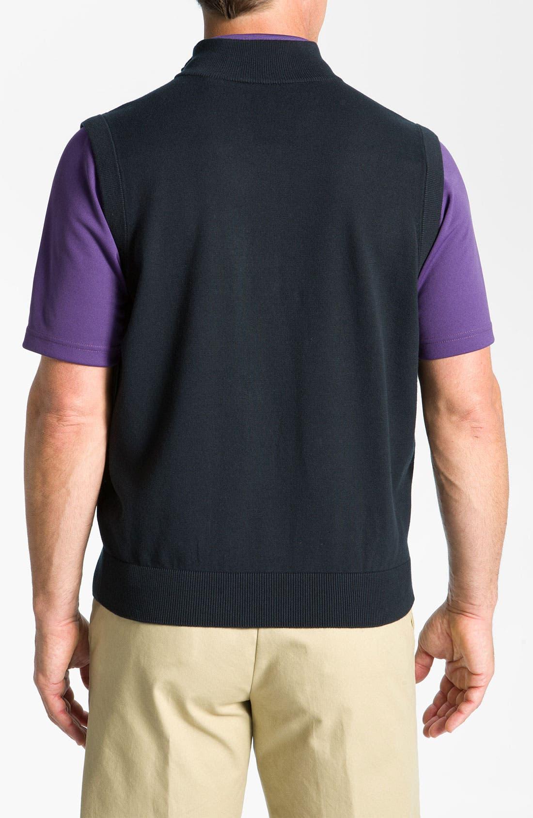Alternate Image 2  - Callaway Golf® Quarter Zip Vest