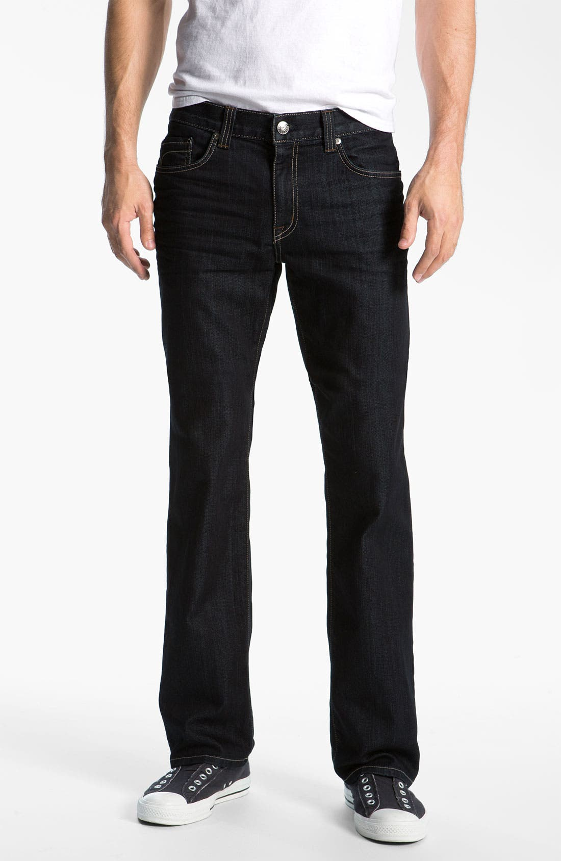 Alternate Image 1  - Fidelity Denim '50-11' Straight Leg Jeans (Sabbath Rinse)