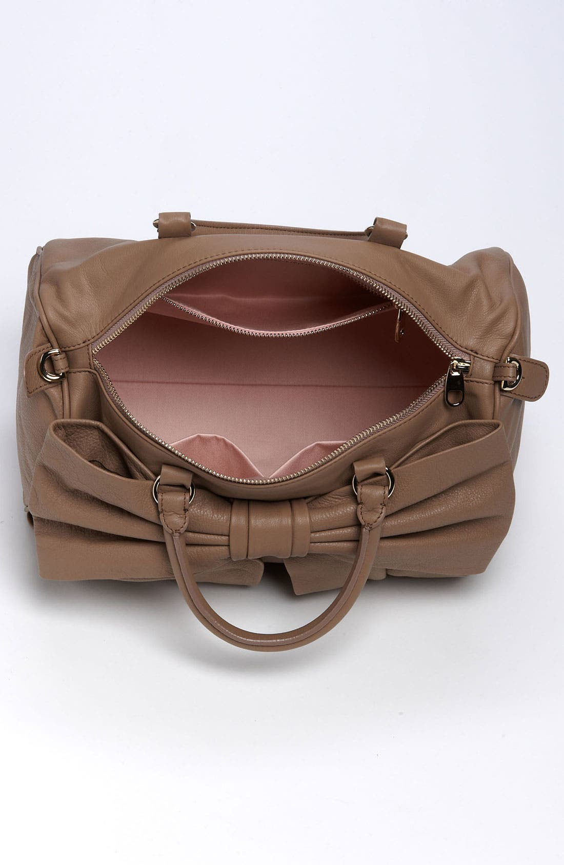 Alternate Image 5  - RED Valentino 'Bow' Leather Bowler Bag