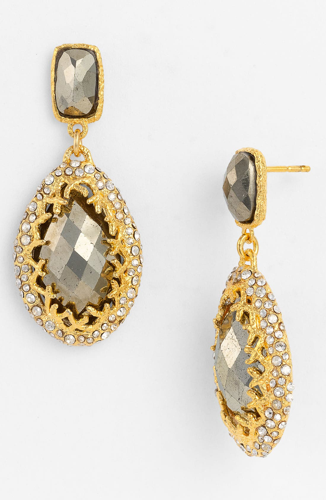 Alternate Image 1 Selected - Alexis Bittar 'Elements' Crown Set Drop Earrings (Nordstrom Exclusive)