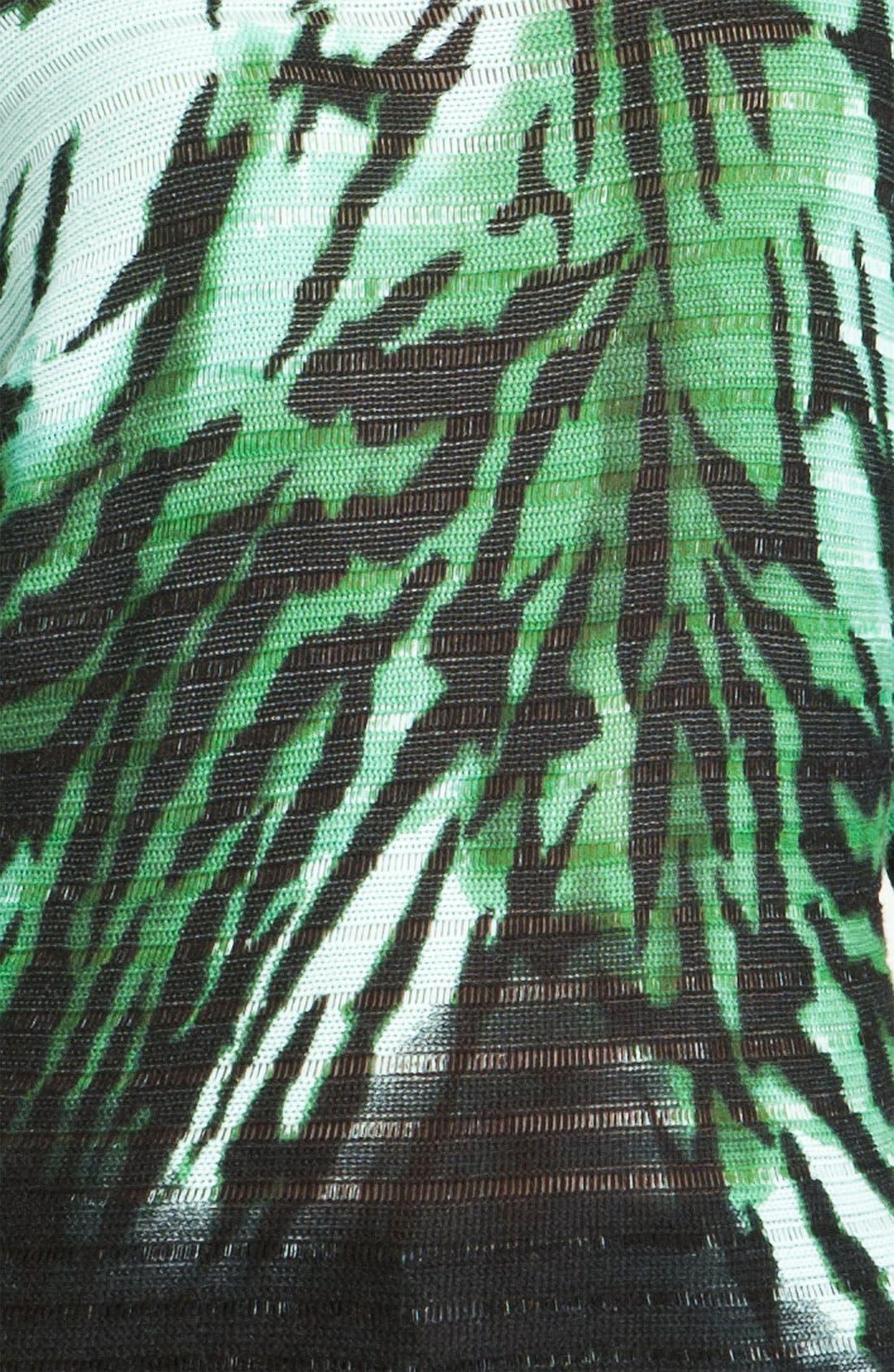 Alternate Image 3  - Alberto Makali 'Zebra' Print Sweater