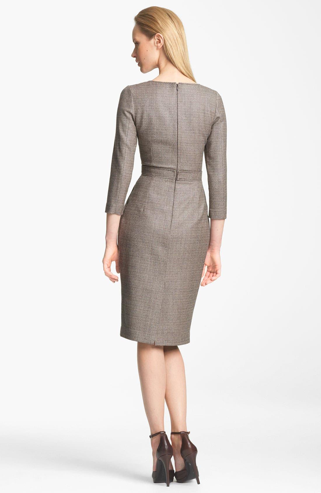 Alternate Image 2  - Armani Collezioni Check Dress