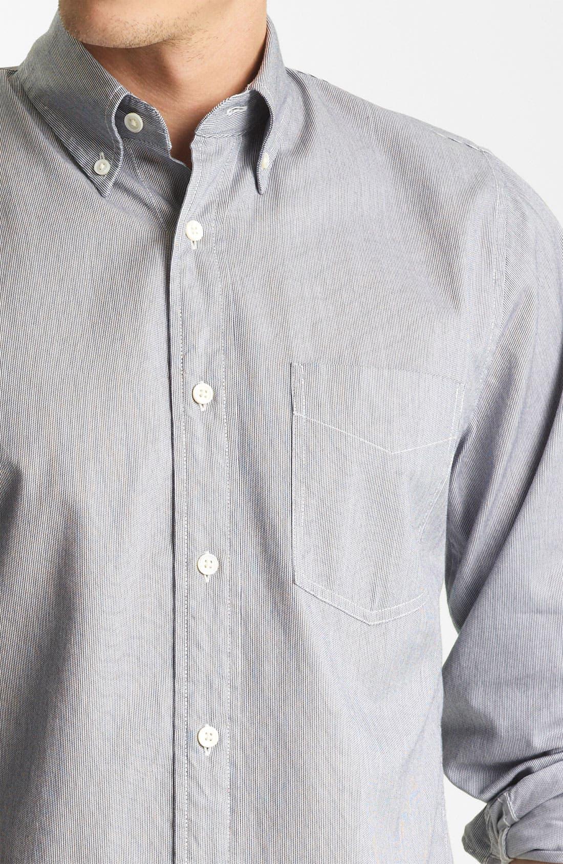 Alternate Image 3  - Jack Spade 'Mills' Stripe Sport Shirt