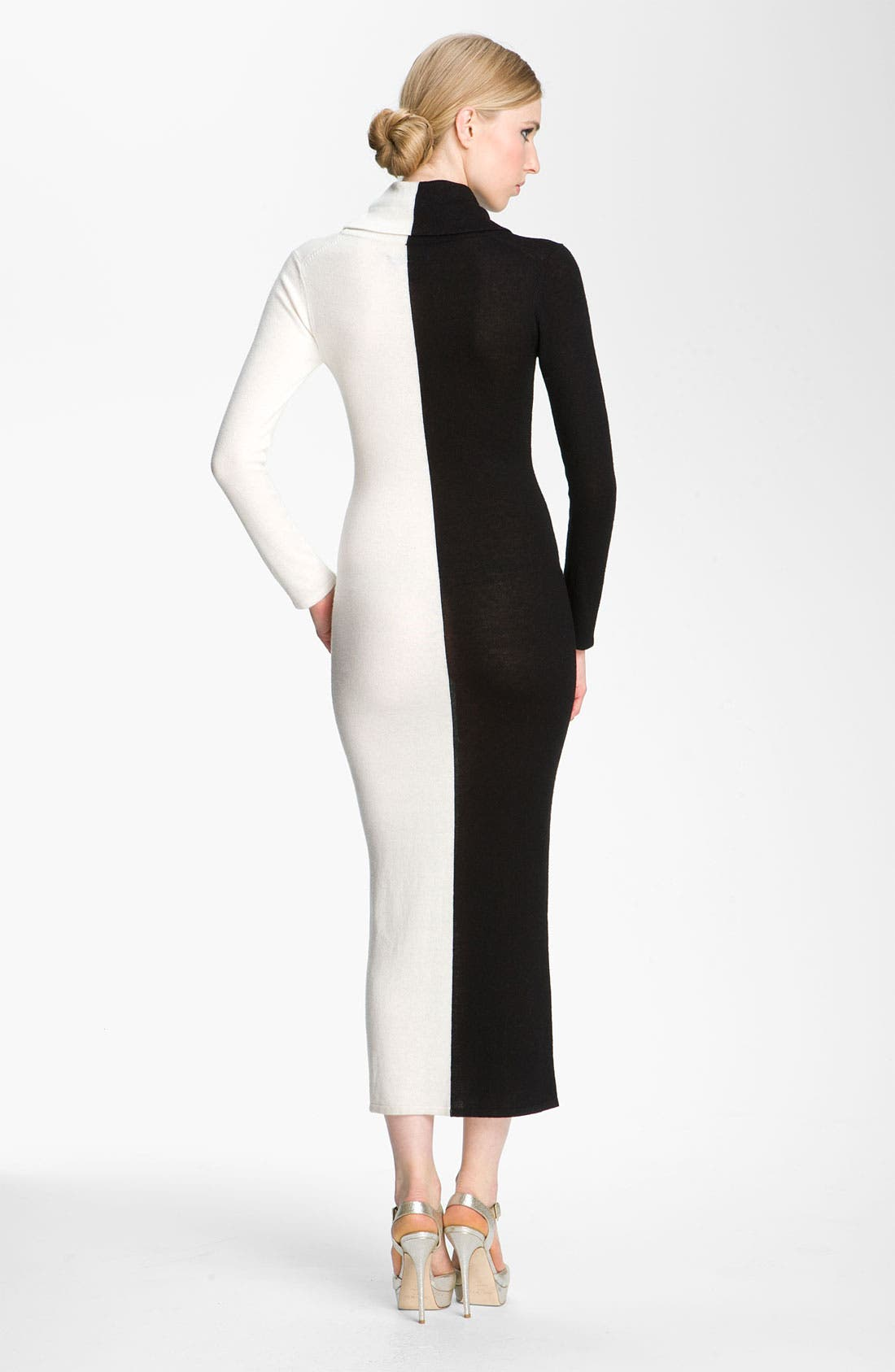 Alternate Image 2  - Alice + Olivia 'Jori' Colorblock Maxi Dress