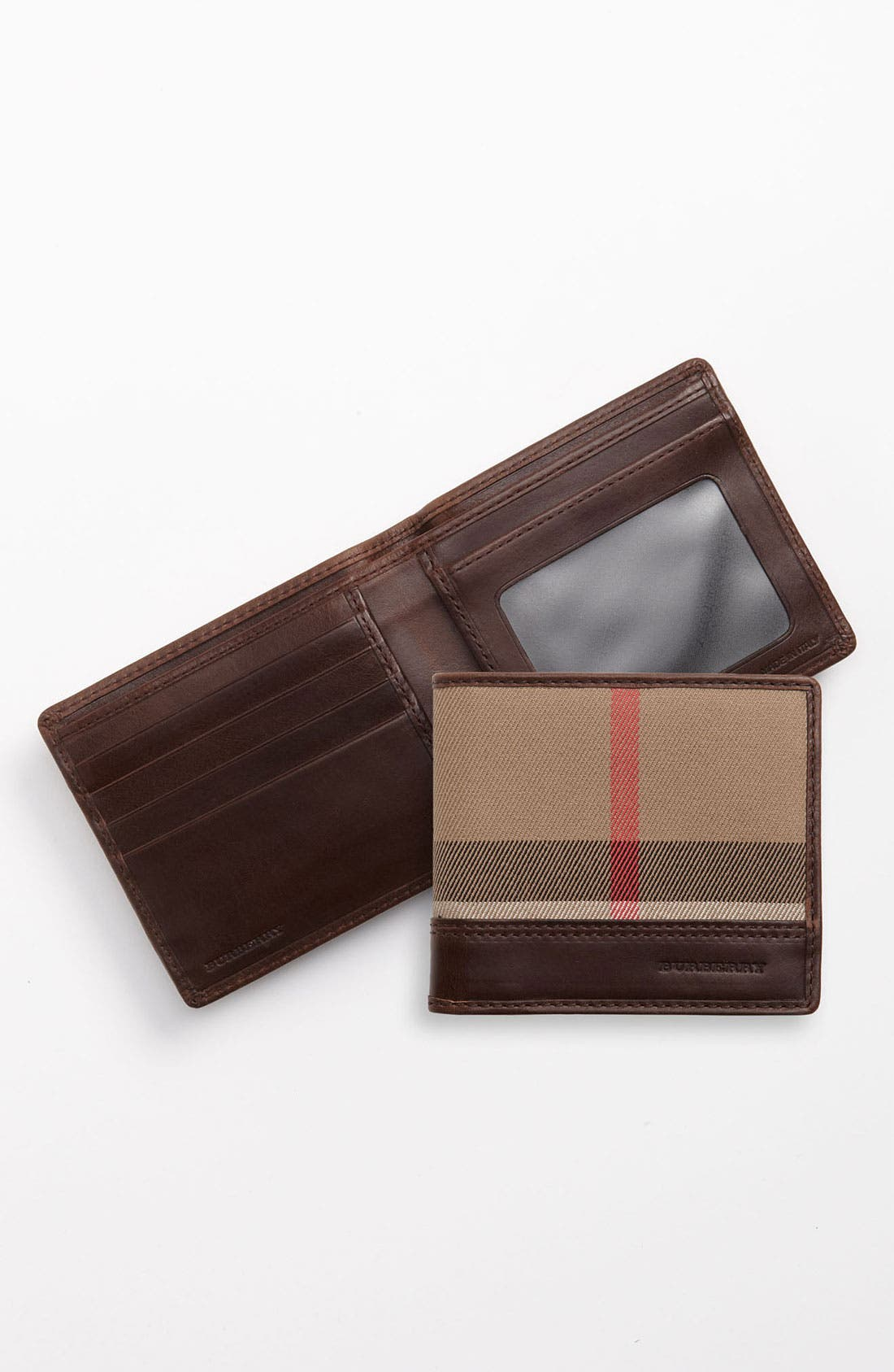 Alternate Image 1 Selected - Burberry ID Window Wallet