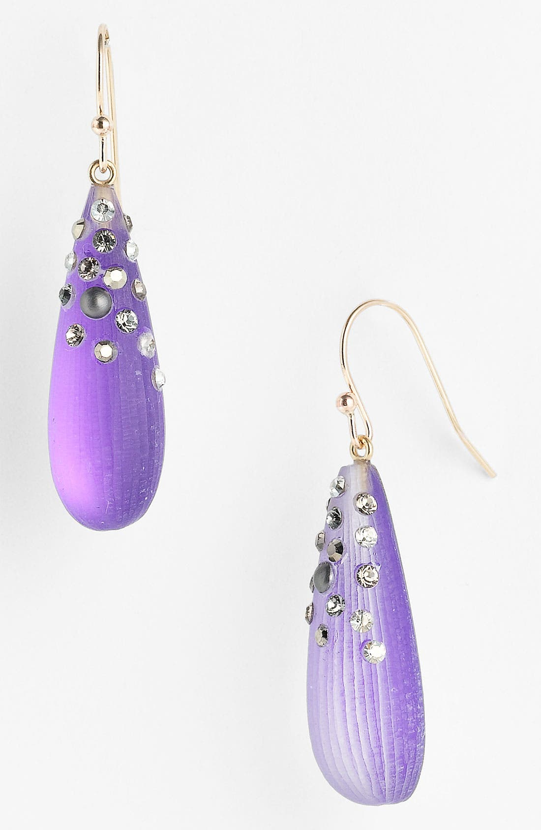 Alternate Image 1 Selected - Alexis Bittar 'Lucite® - Dust' Long Raindrop Earrings (Nordstrom Exclusive)