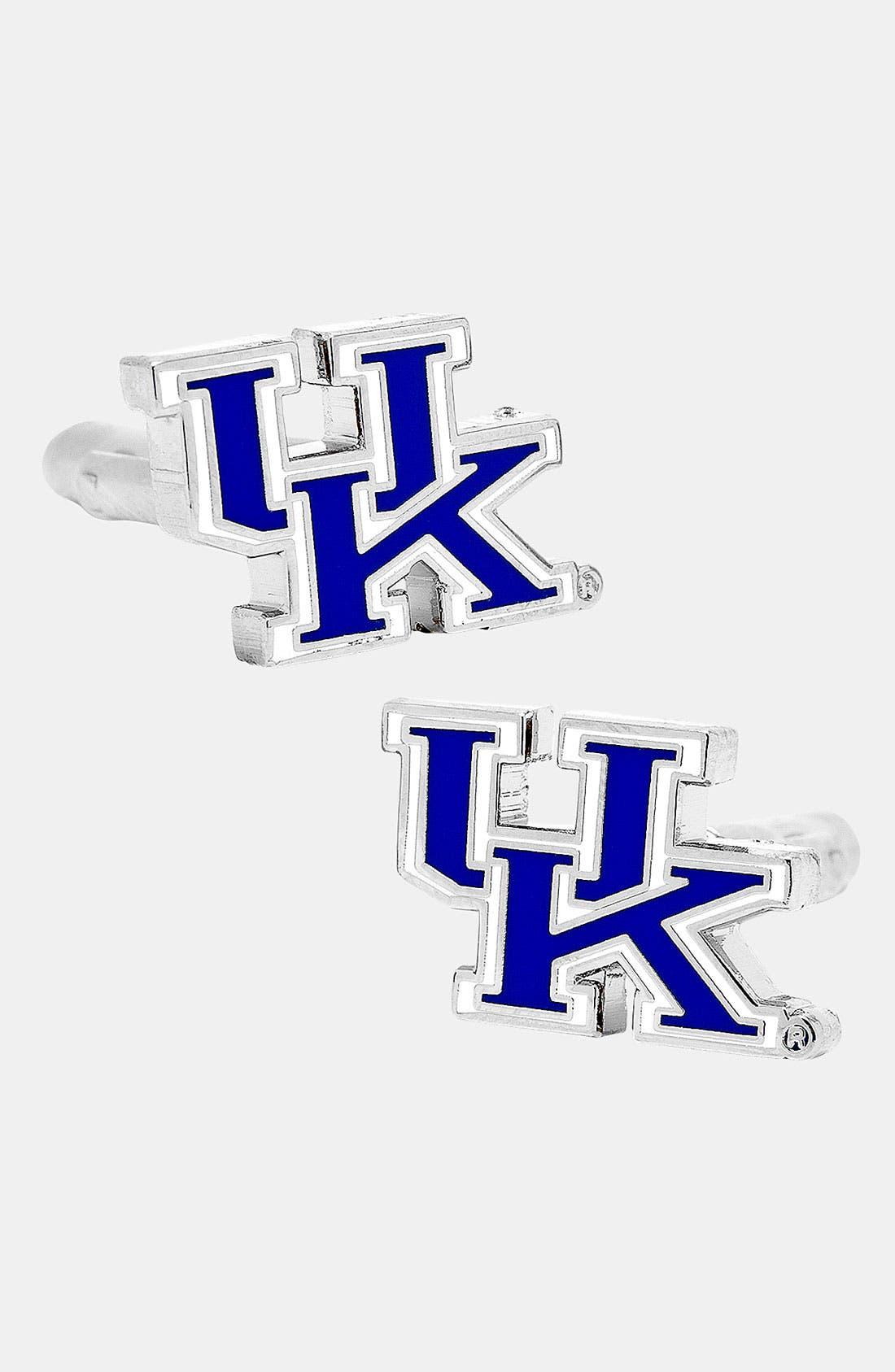Alternate Image 1 Selected - Cufflinks, Inc. 'University of Kentucky Wildcats' Cuff Links