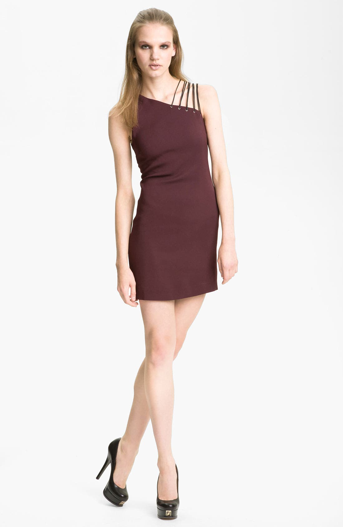 Main Image - Versus One Shoulder Dress