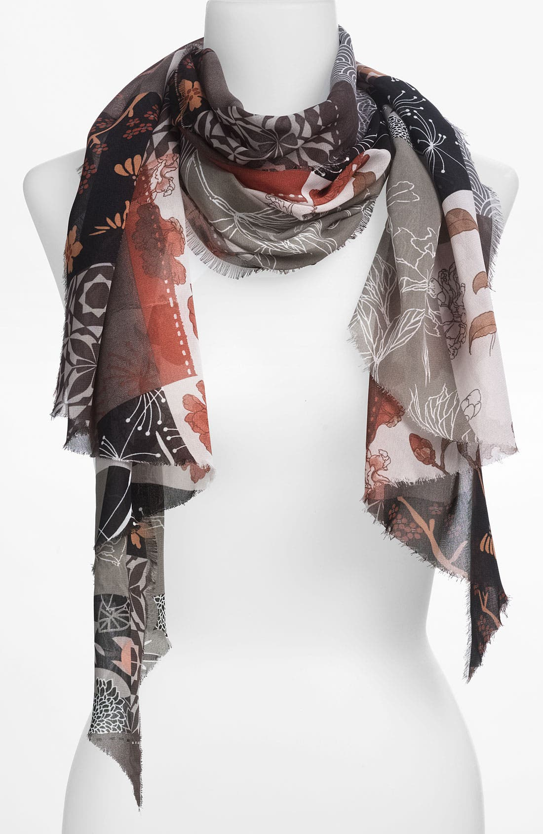 Main Image - Hinge® 'Japan' Scarf
