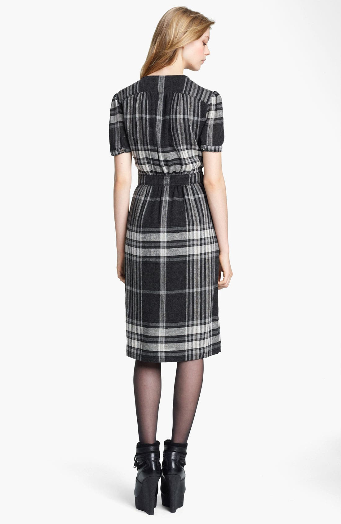 Alternate Image 2  - Burberry Brit Check Print Dress