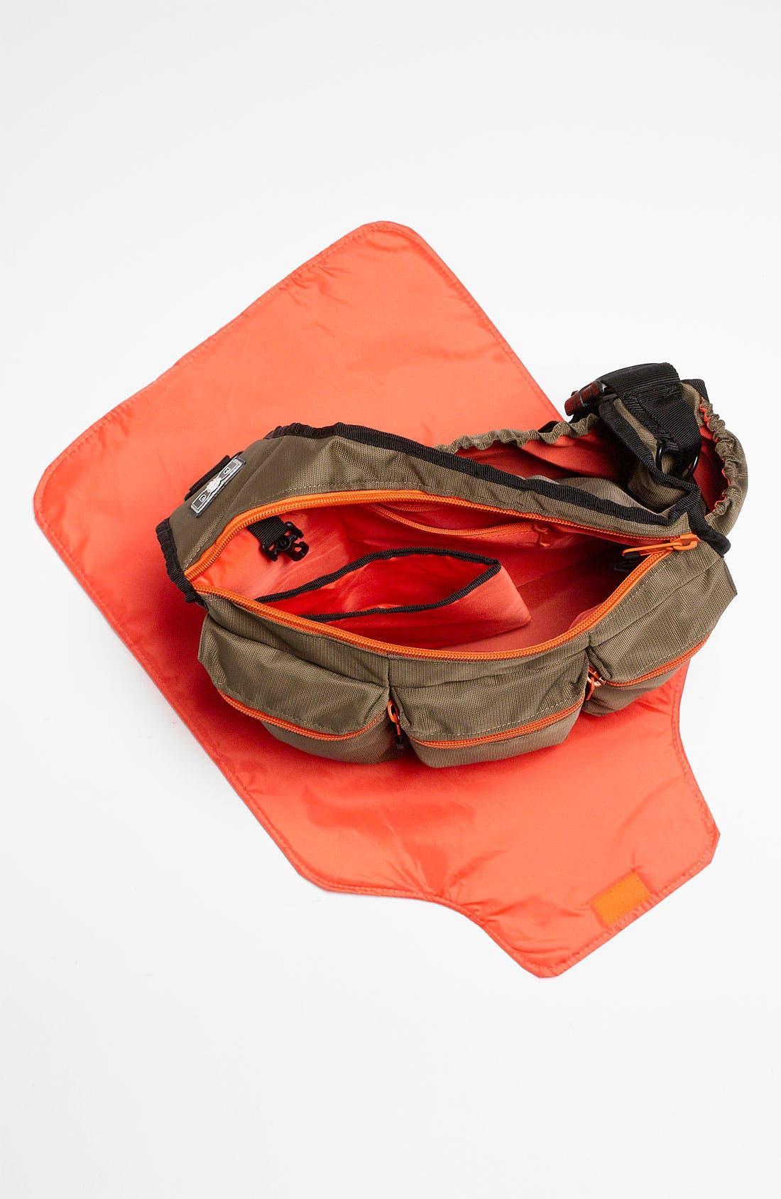 Alternate Image 6  - Diaper Dude Messenger Diaper Bag
