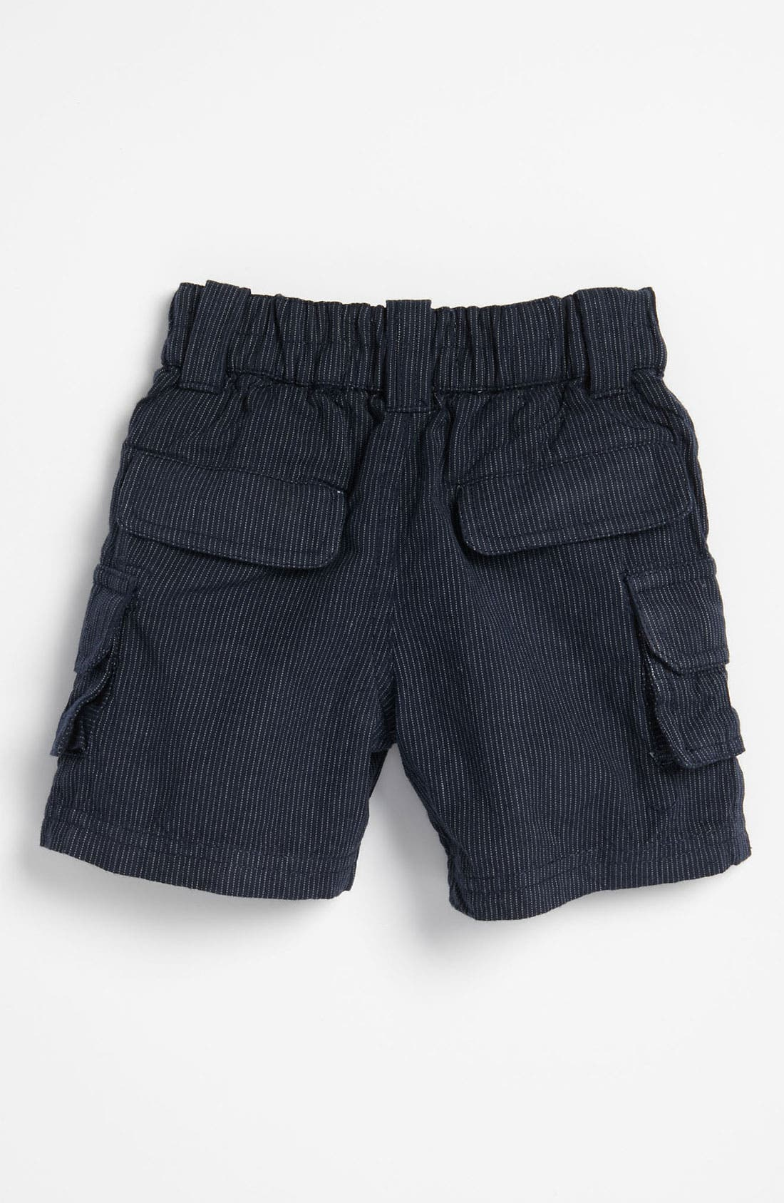 Alternate Image 2  - Peek Pinstripe Shorts (Infant)