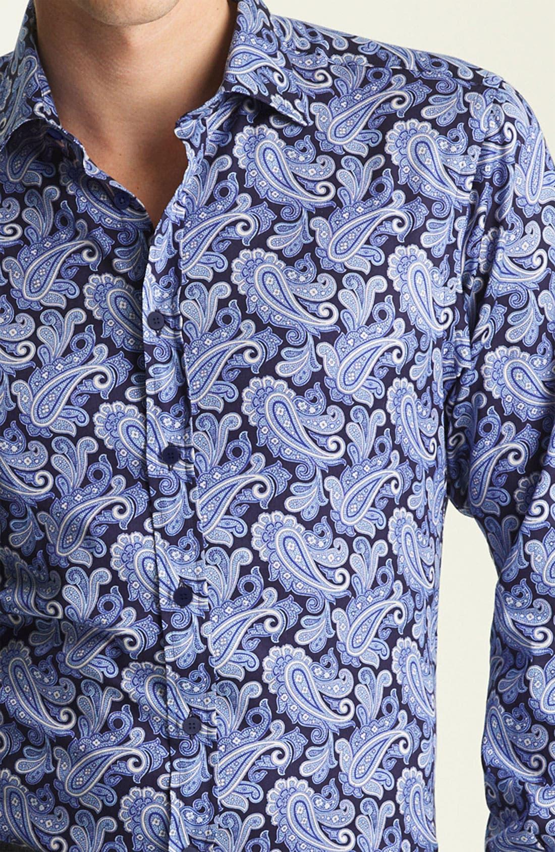 Alternate Image 3  - Etro Paisley Cotton Shirt